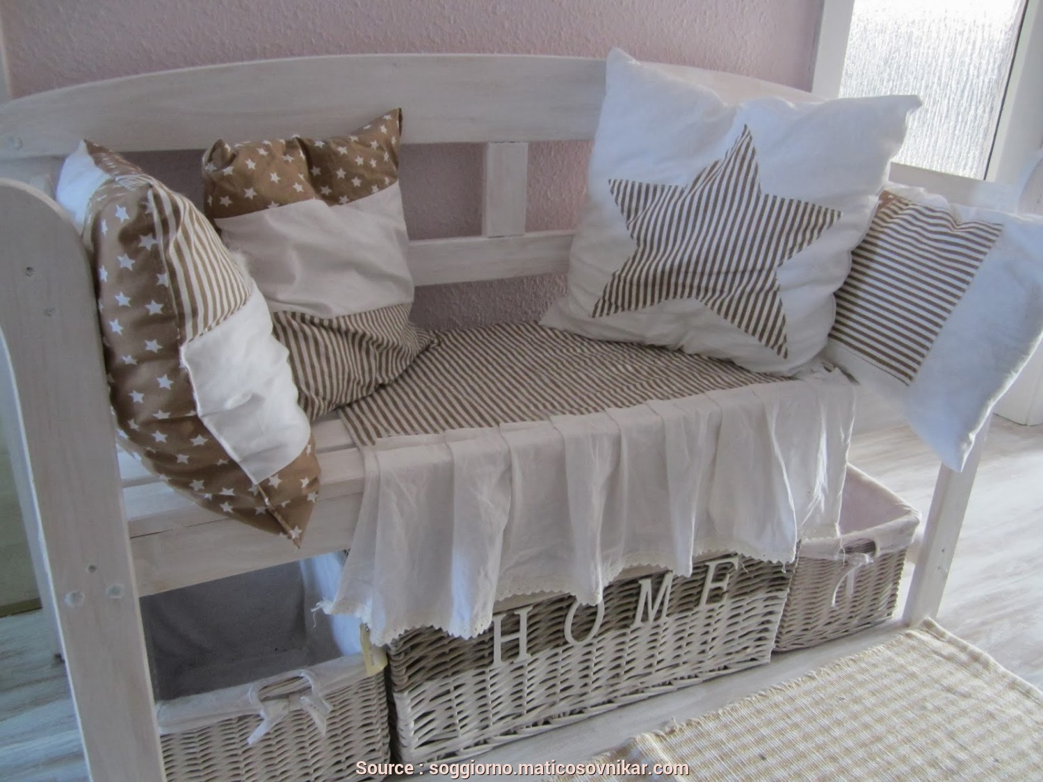 Amazon Cuscini Divano Shabby, Amabile Cuscini Divano Shabby Amazon, Tende Da Salotto Country Idee Per