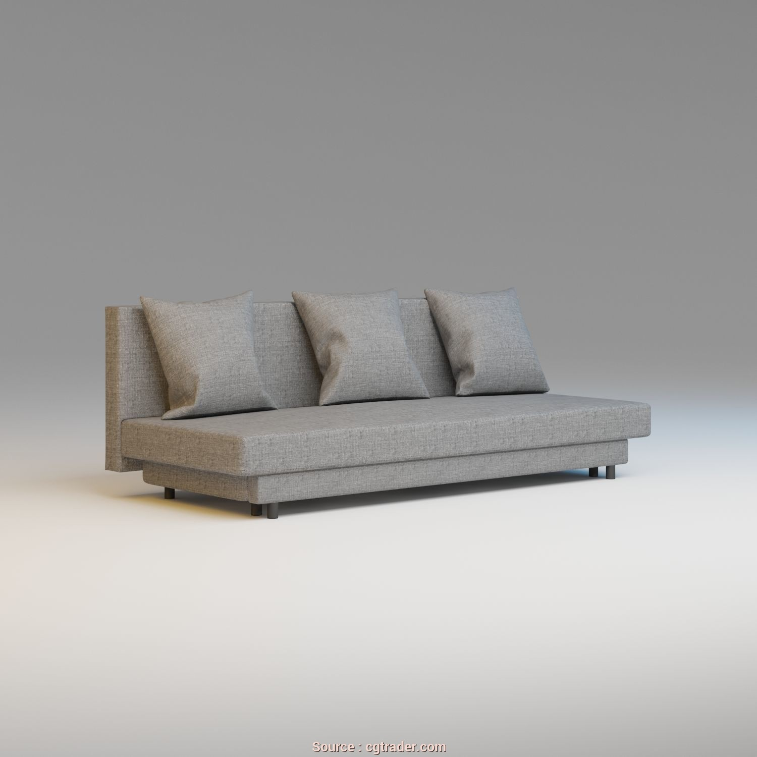 Asarum Ikea Avis, Bello Ikea, Asarum Sofa 3D Model, Obj, 3Ds, 1