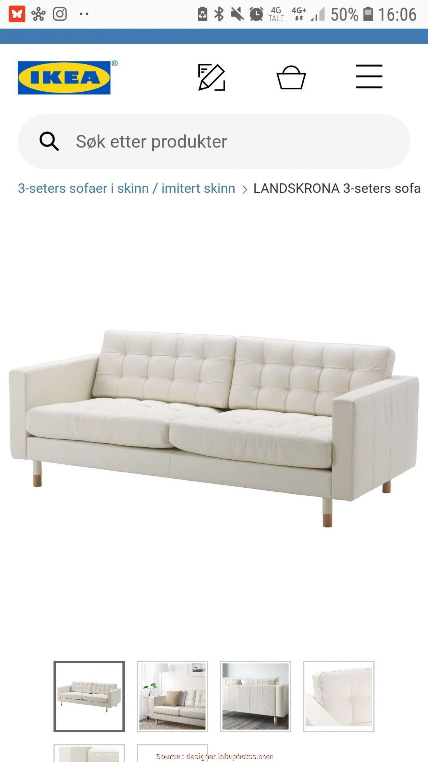 Asarum Ikea Bewertung, Affascinante Ikea Sove Sofa. Good Cheap Ikea Landskrona Seat White Leather Sofa