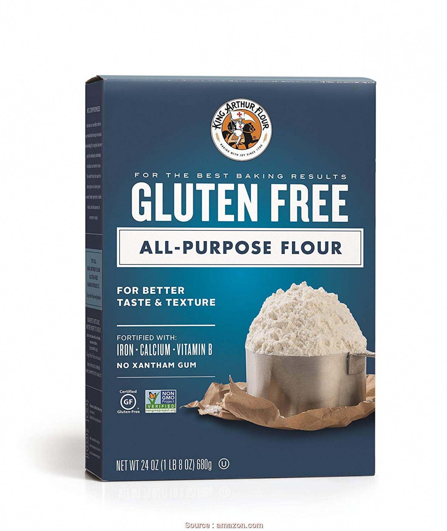 B Divani Flour, Freddo Gluten Free All-Purpose Flour, 24 Ounces