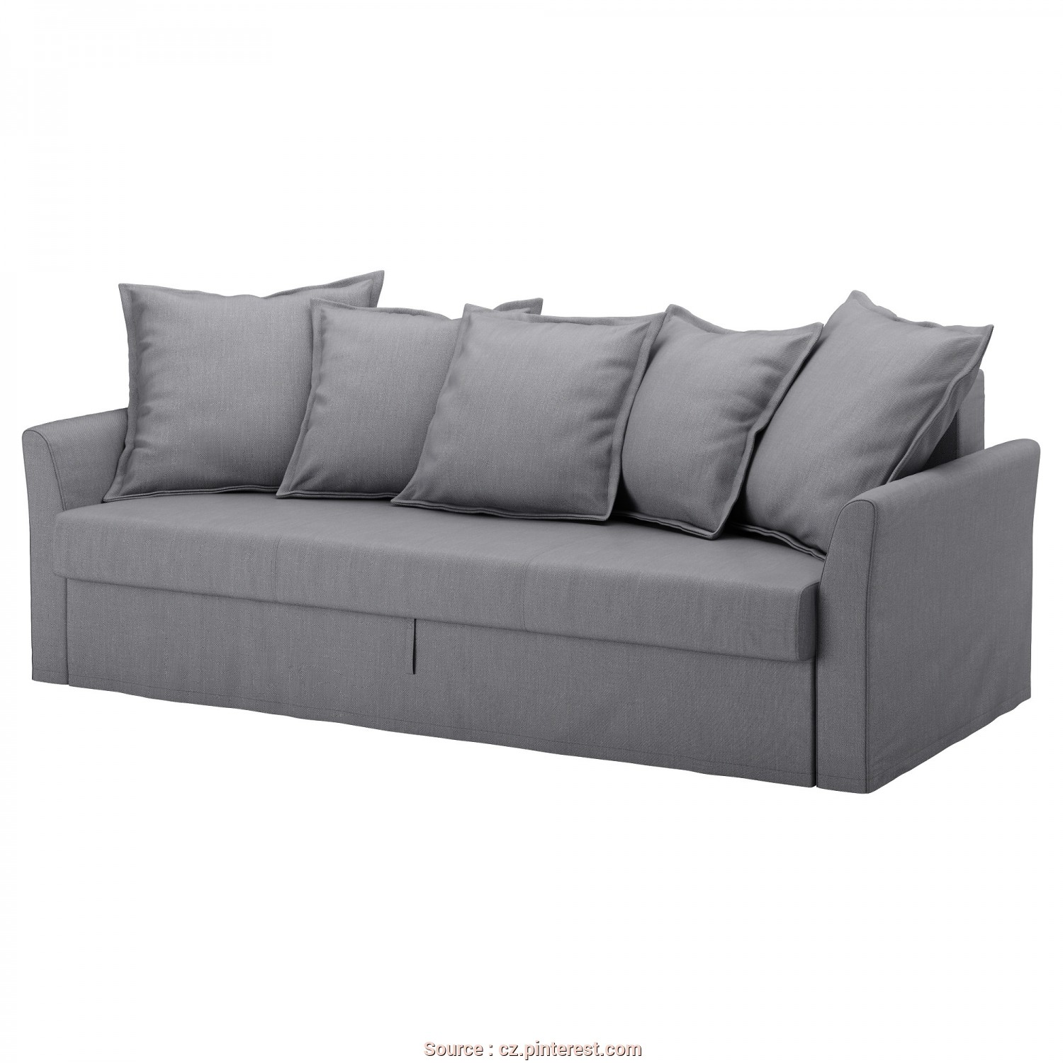 Backabro Bettsofa Ikea, Sbalorditivo HOLMSUND Cover, Sofa-Bed, Nordvalla Medium Gray In 2018, Ikea