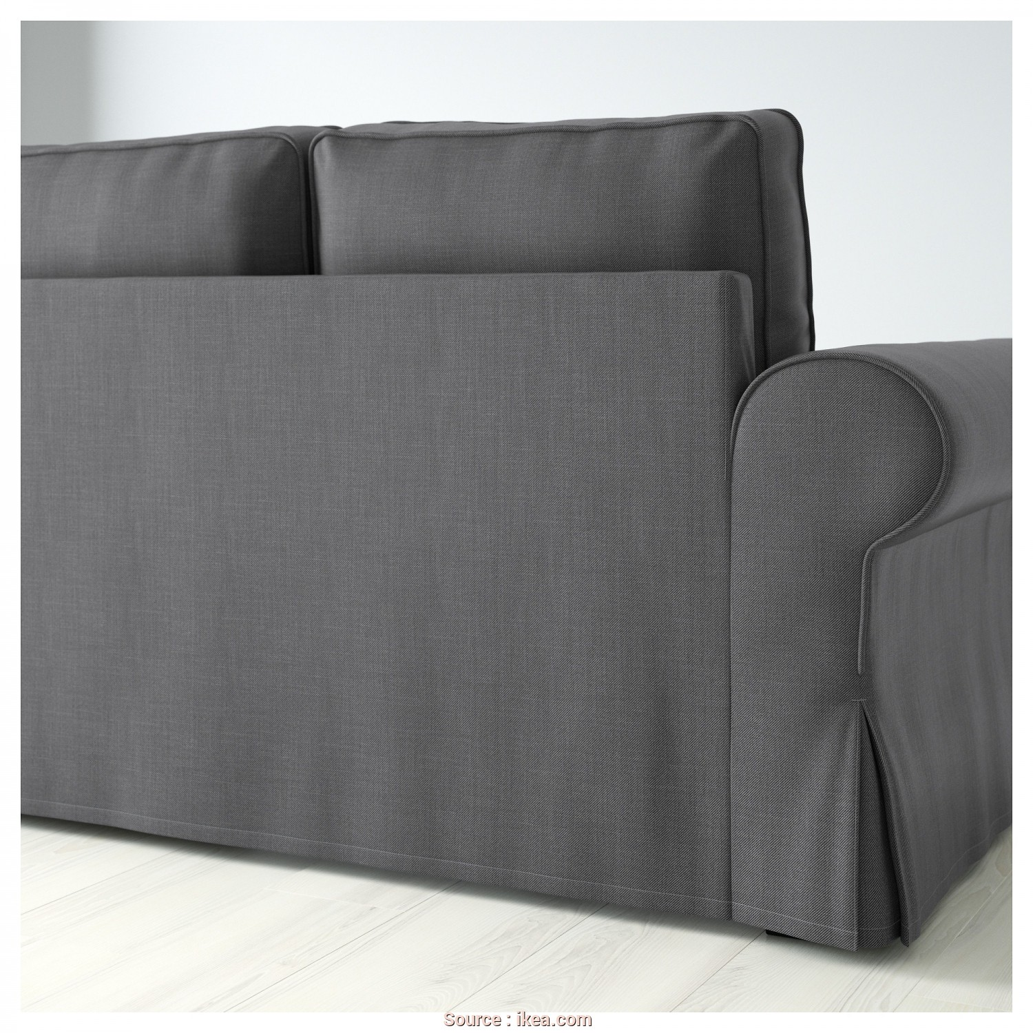 Backabro Canape Ikea, Esotico BACKABRO Two-Seat Sofa-Bed Nordvalla Dark Grey