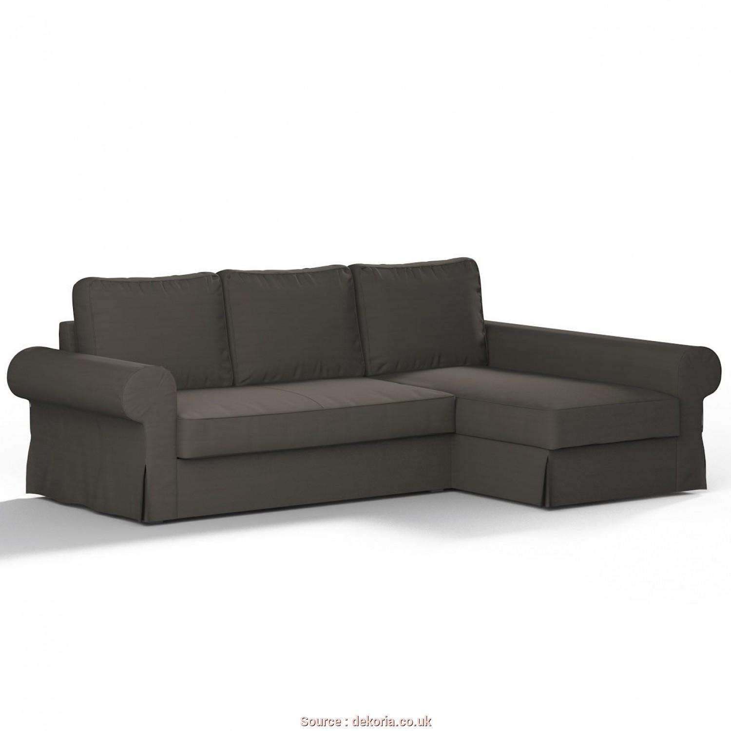 Backabro Ikea Beograd, Casuale Backabro Sofa, With Chaise Longue Cover In Collection Panama Cotton, Fabric: 702