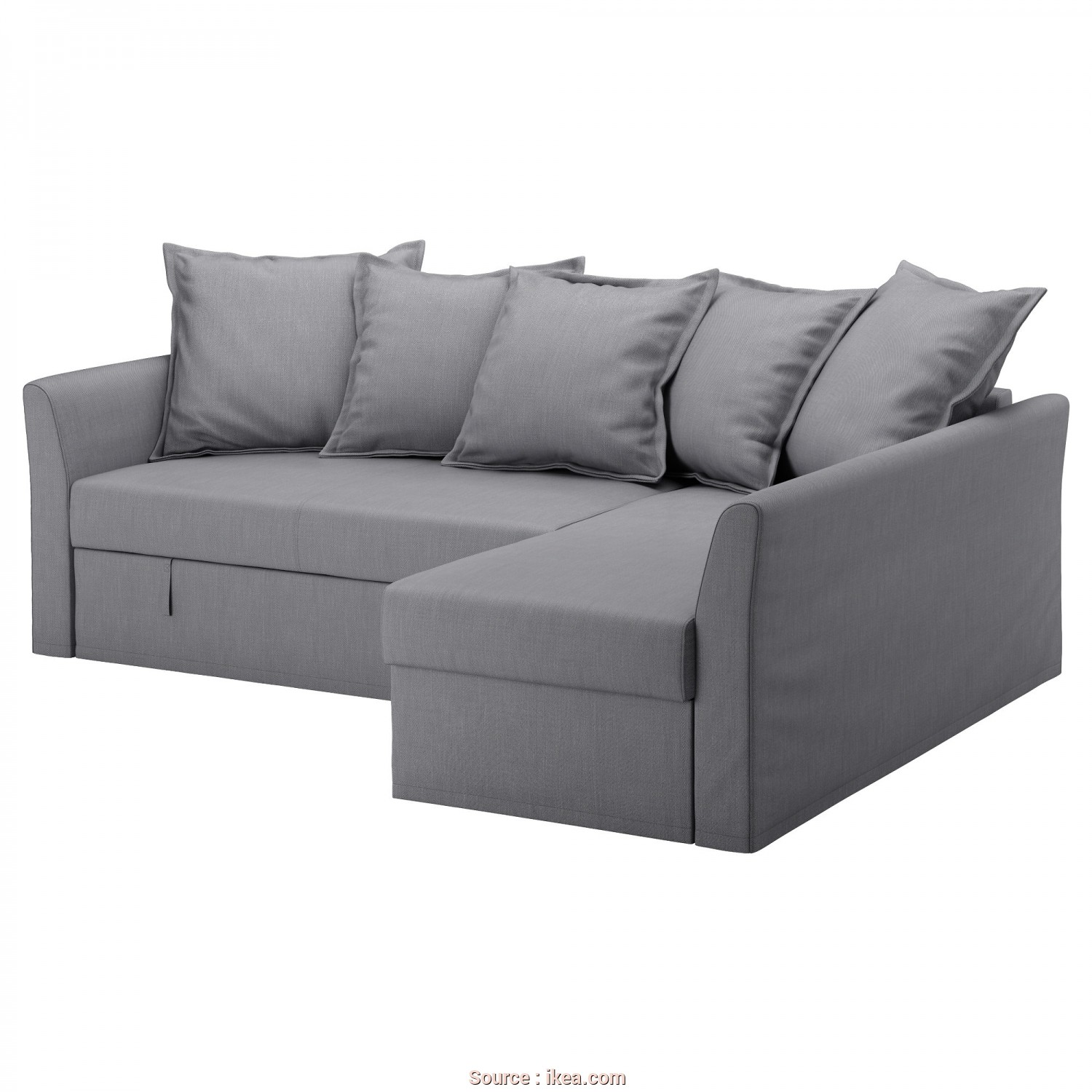 Backabro Ikea Couch, Elegante IKEA HOLMSUND Corner Sofa-Bed Cover Made Of Extra Hard-Wearing Polyester With A