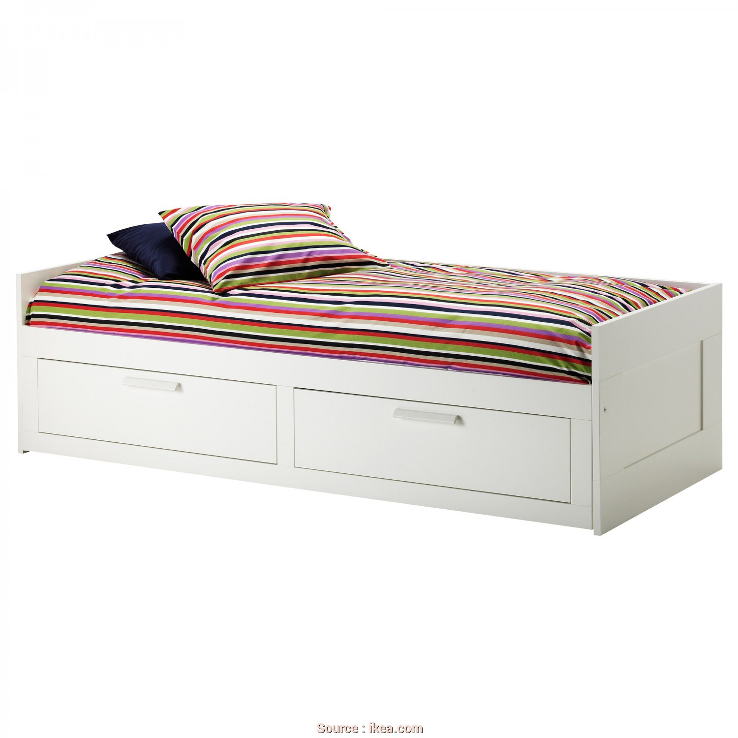 Backabro Ikea Cz, Freddo IKEA BRIMNES Day-Bed Frame With 2 Drawers