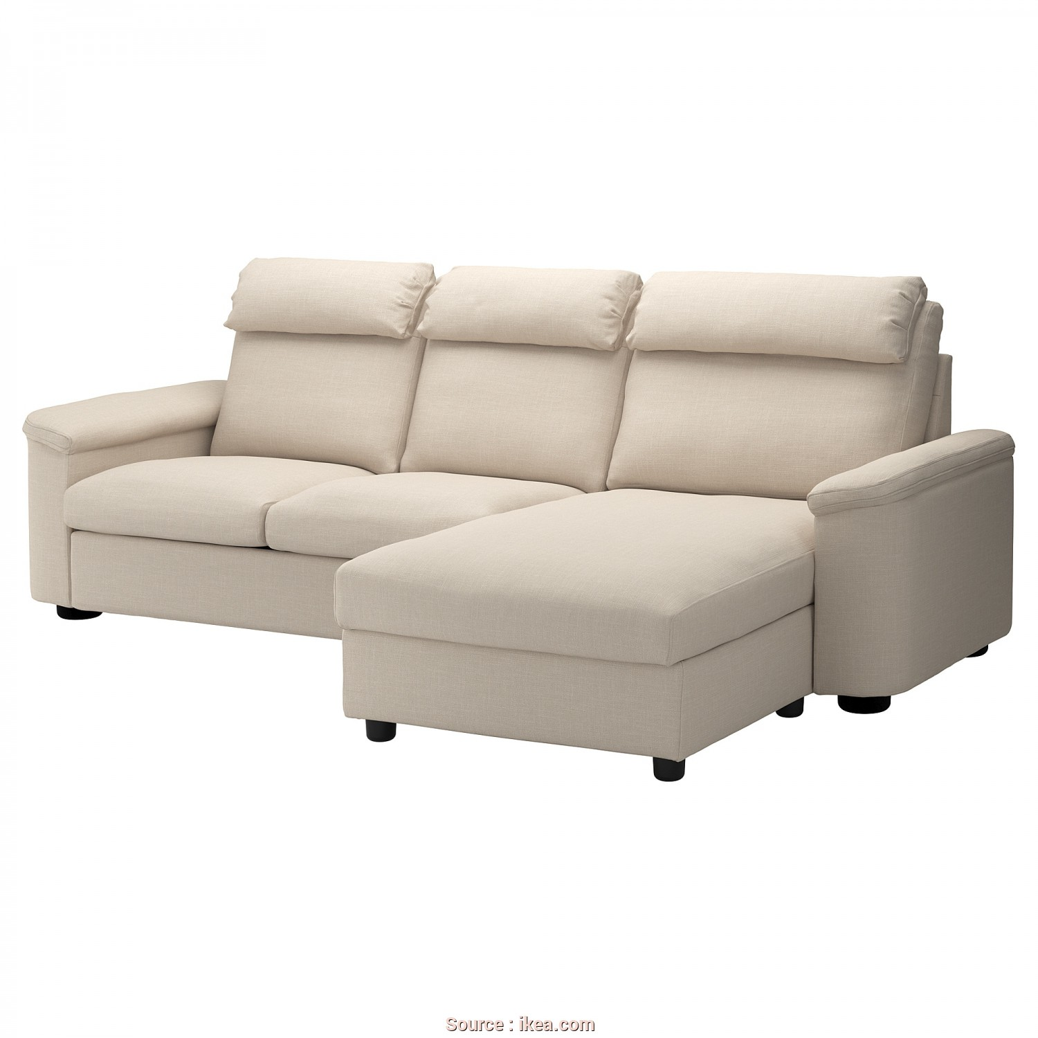 Backabro Sofa, With Chaise Longue £725 Ikea, Esotico IKEA LIDHULT 3-Seat Sofa, Cover Is Easy To Keep Clean Since It Is