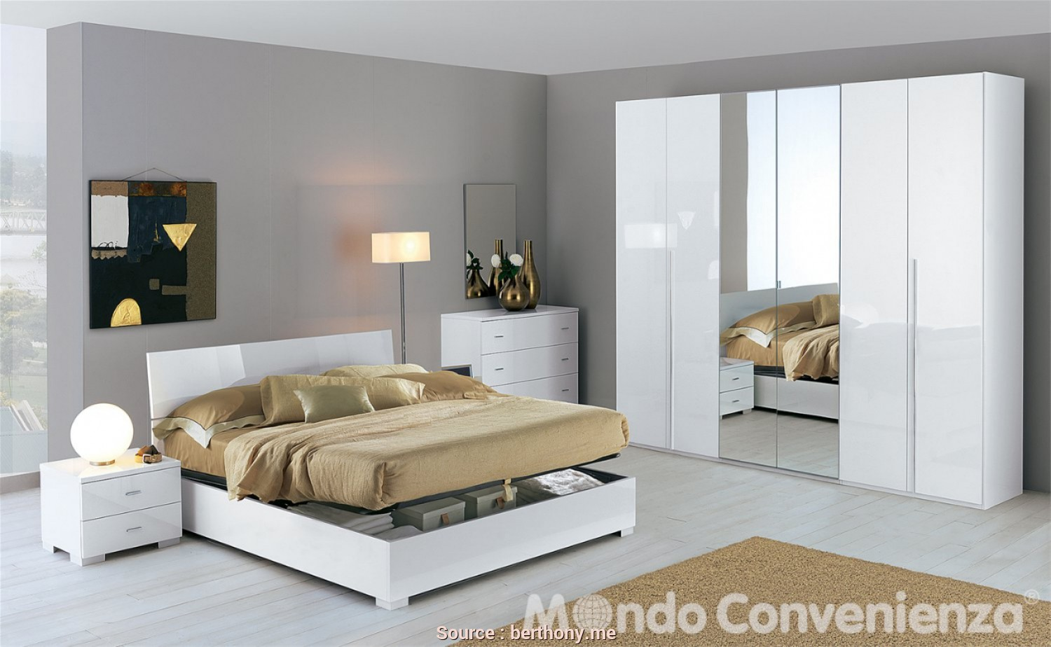 Casuale 6 Camera, Letto A Scomparsa Mondo Convenienza - Jake ...