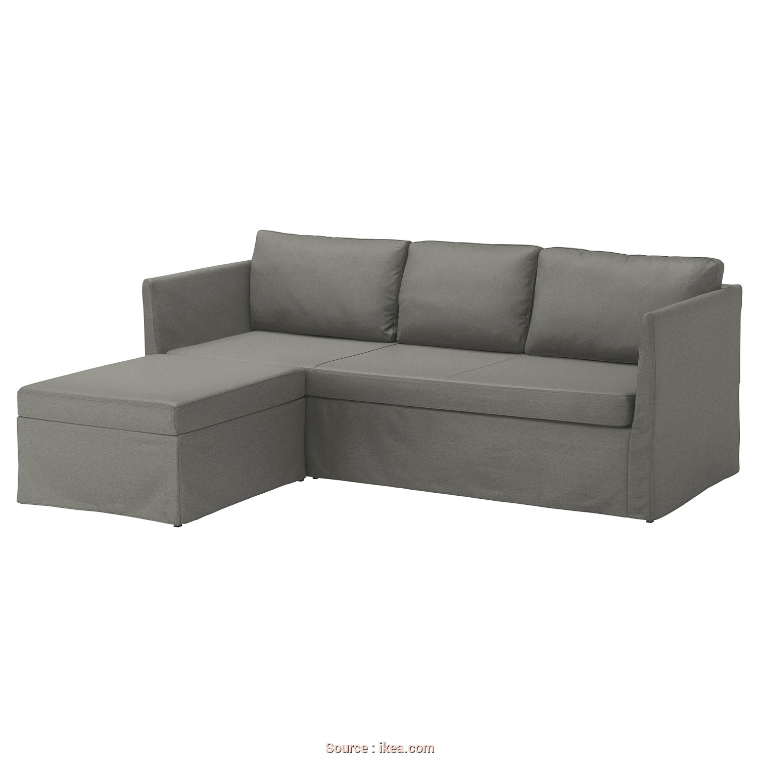 Canapé Convertible 3 Places Ikea Beddinge, Stupefacente IKEA BRÅTHULT Corner Sofa-Bed, Sit Comfortably Thanks To, Resilient Foam, Springy