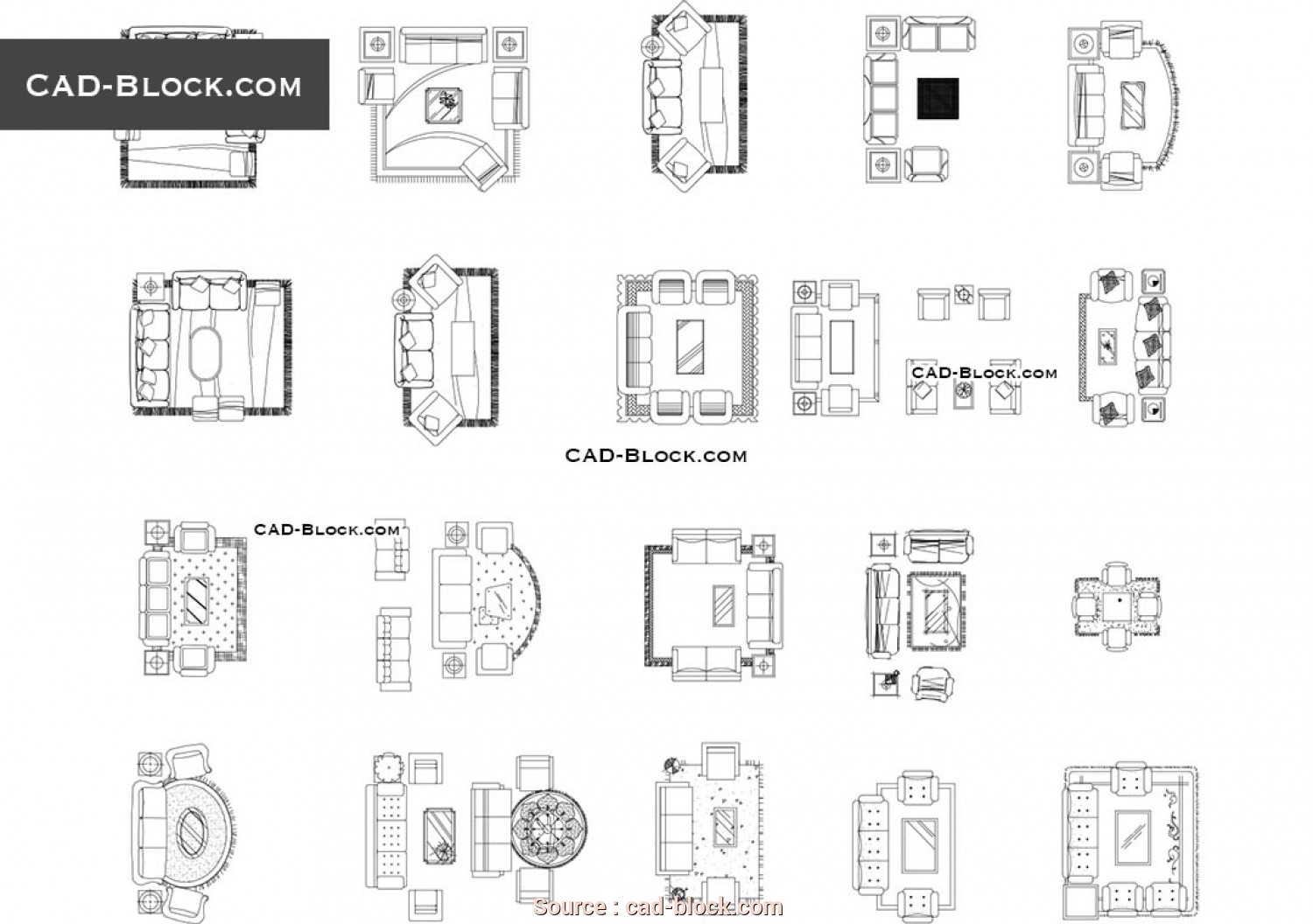 Chaise Longue, 2D, Completare Chaise Lounge, Blocks, Free AutoCAD Drawings Download