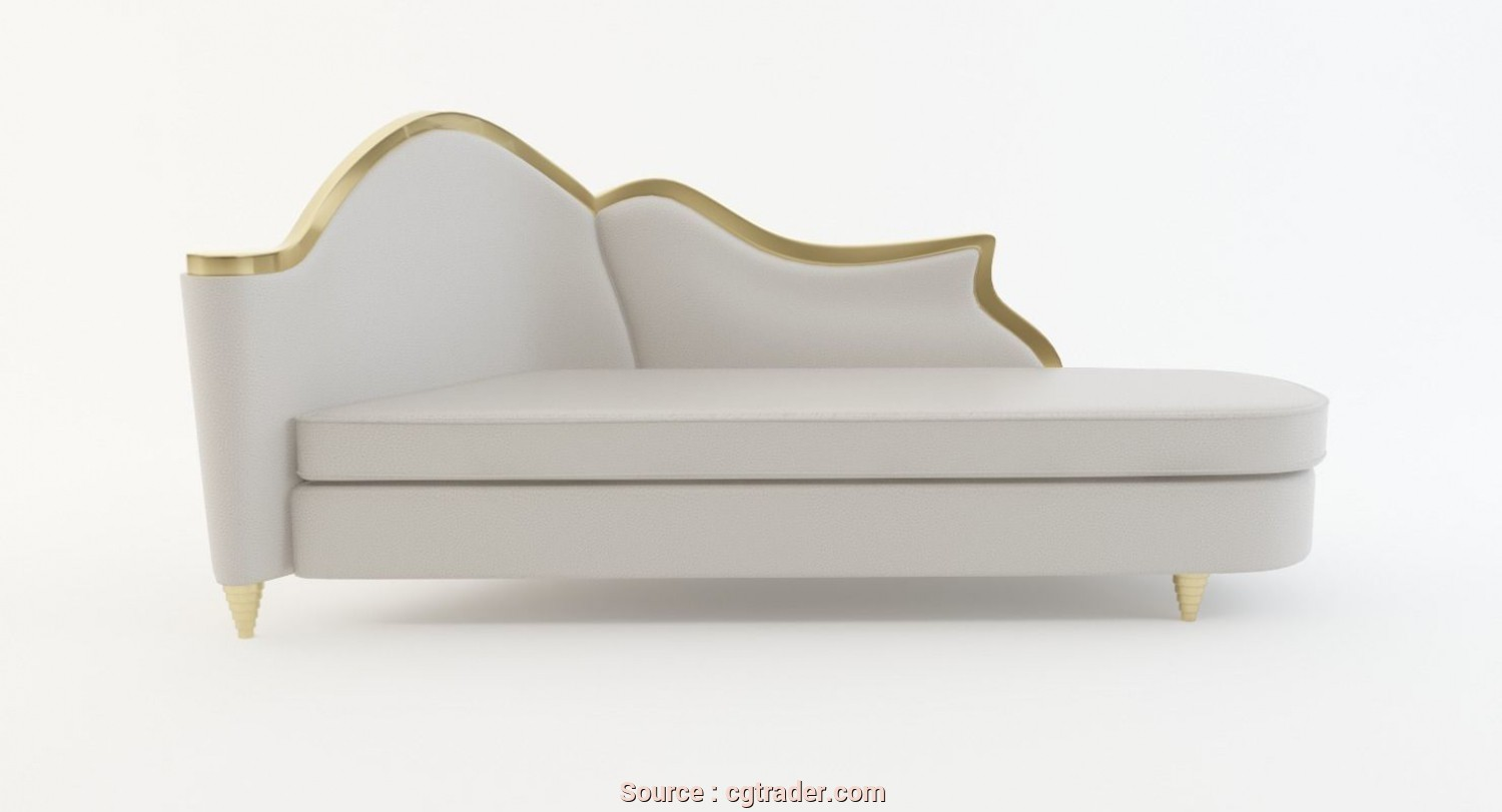 Chaise Longue, 3D, Costoso Chaise Lounge 3D Model, Obj, 3Ds, Ma Mb Dwg