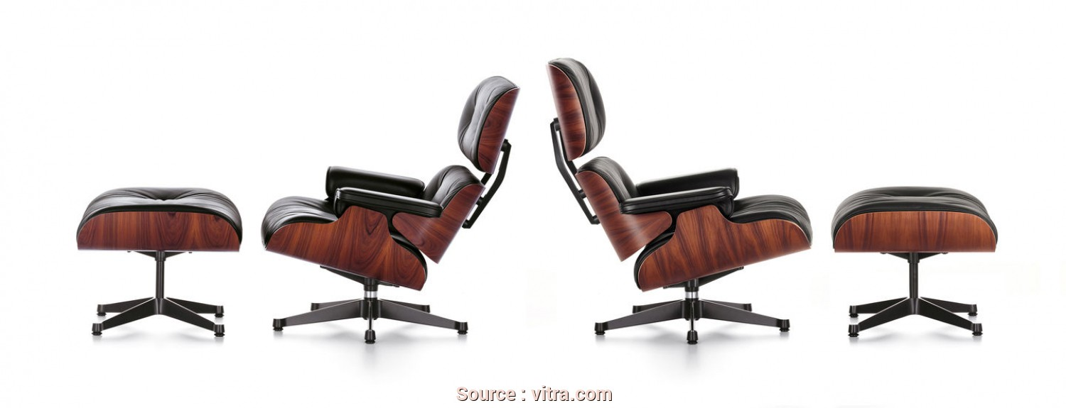 Chaise Longue Disegno Dwg, Semplice Vitra, Eames Lounge Chair