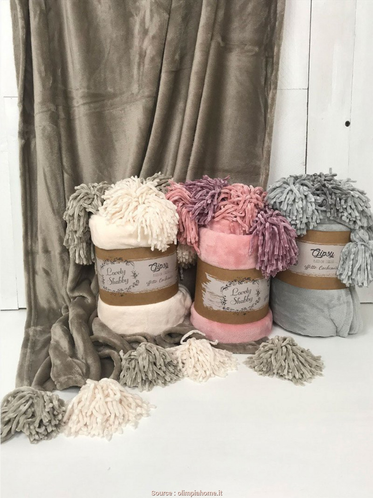 Come Mettere Il Plaid, Divano, Grande Plaid Morbido Gipsy, Lovely Shabby, Olimpiahome