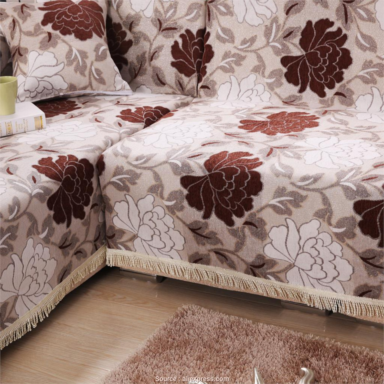 Copridivano Country, Locale US $22.99 |Copri Divano 100% Cotton Thickening Sofa Cover Four Season Fabric Cover Sofa Slipcover Newest Design Print Housse De Canape, Sofa Cover