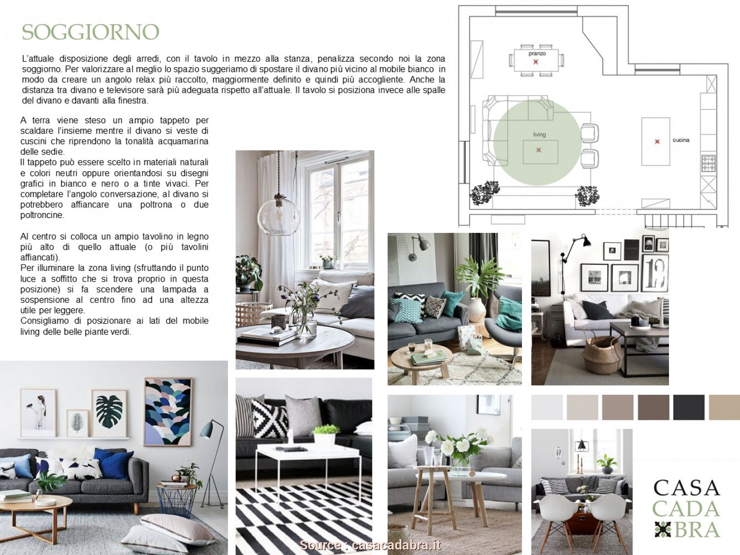 Distanza Divano Tv, Maestoso Progetto Interior Design Relooking Styling Casacadabra, Carmen (7)