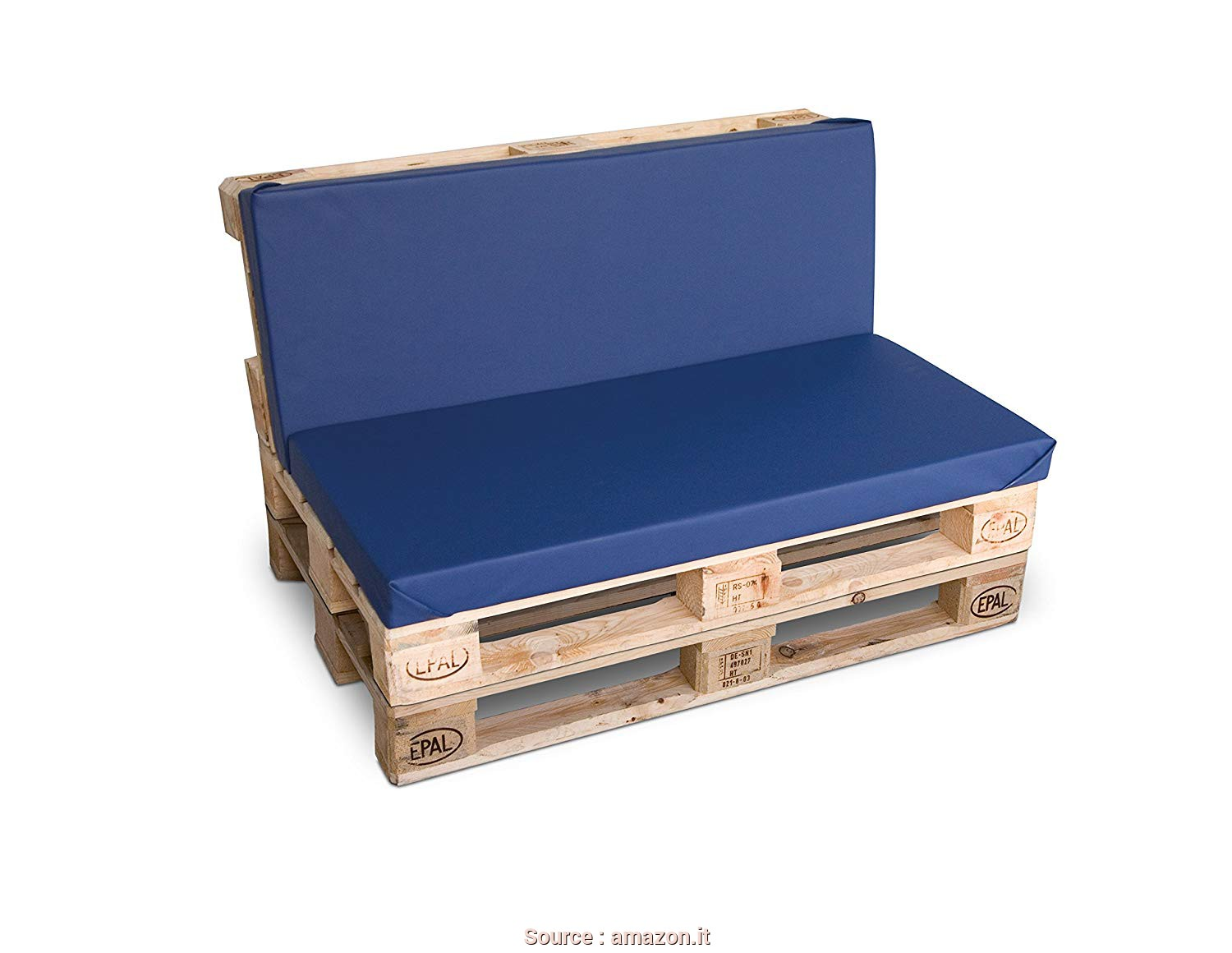 Divanetto Pallet Richiudibile, Eccellente CLC ARREDO Divanetto Pallet Richiudibile Made In Italy, Colore Neutro Naturale: Amazon.It: Casa E Cucina