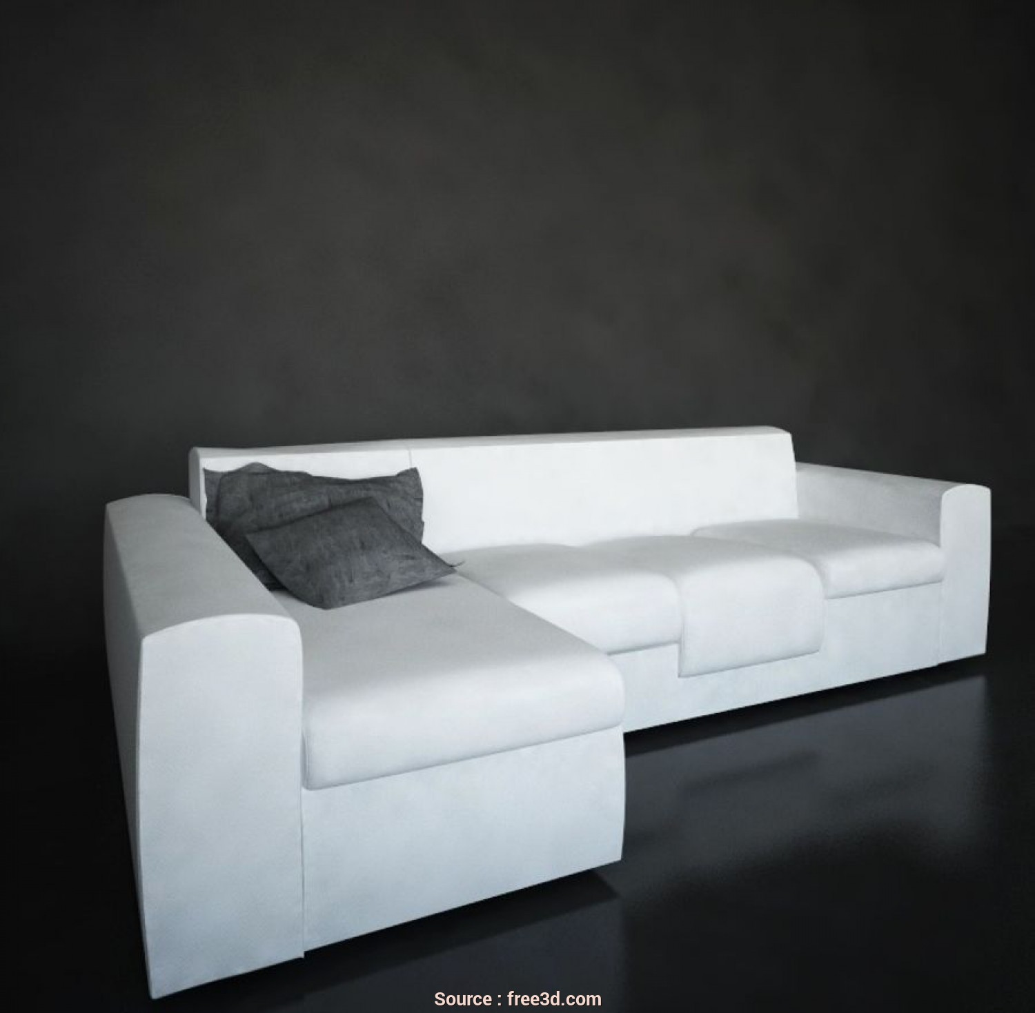 Divani, 3D, Casuale Chaise Longue Sofa. 3D Model $8, .C4D .Dxf .3Ds .Max .Dwg, Free3D