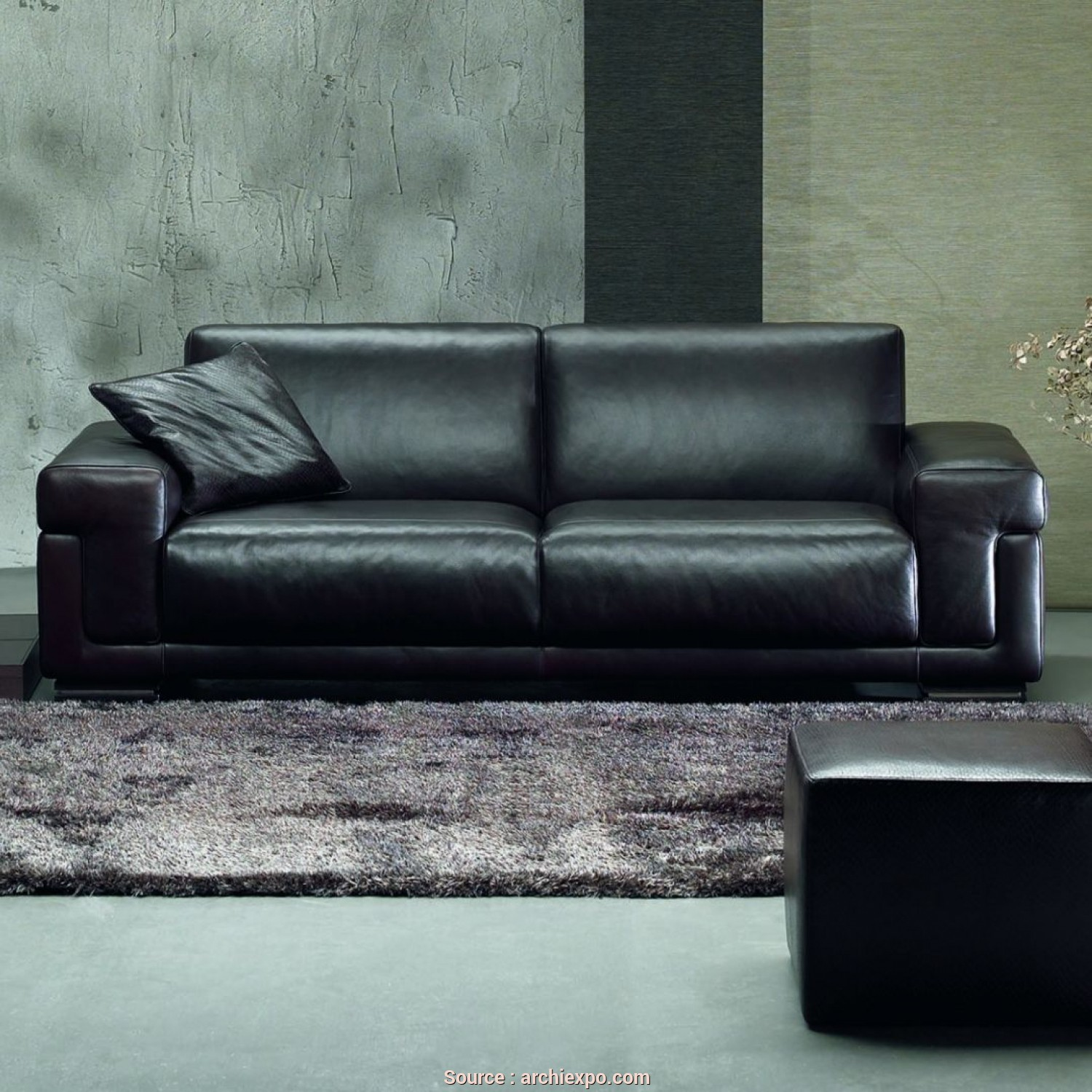Divani By Natuzzi In Pelle, Sbalorditivo Modular Sofa / Contemporary / Leather / 2-Person, METROPOLE, NATUZZI