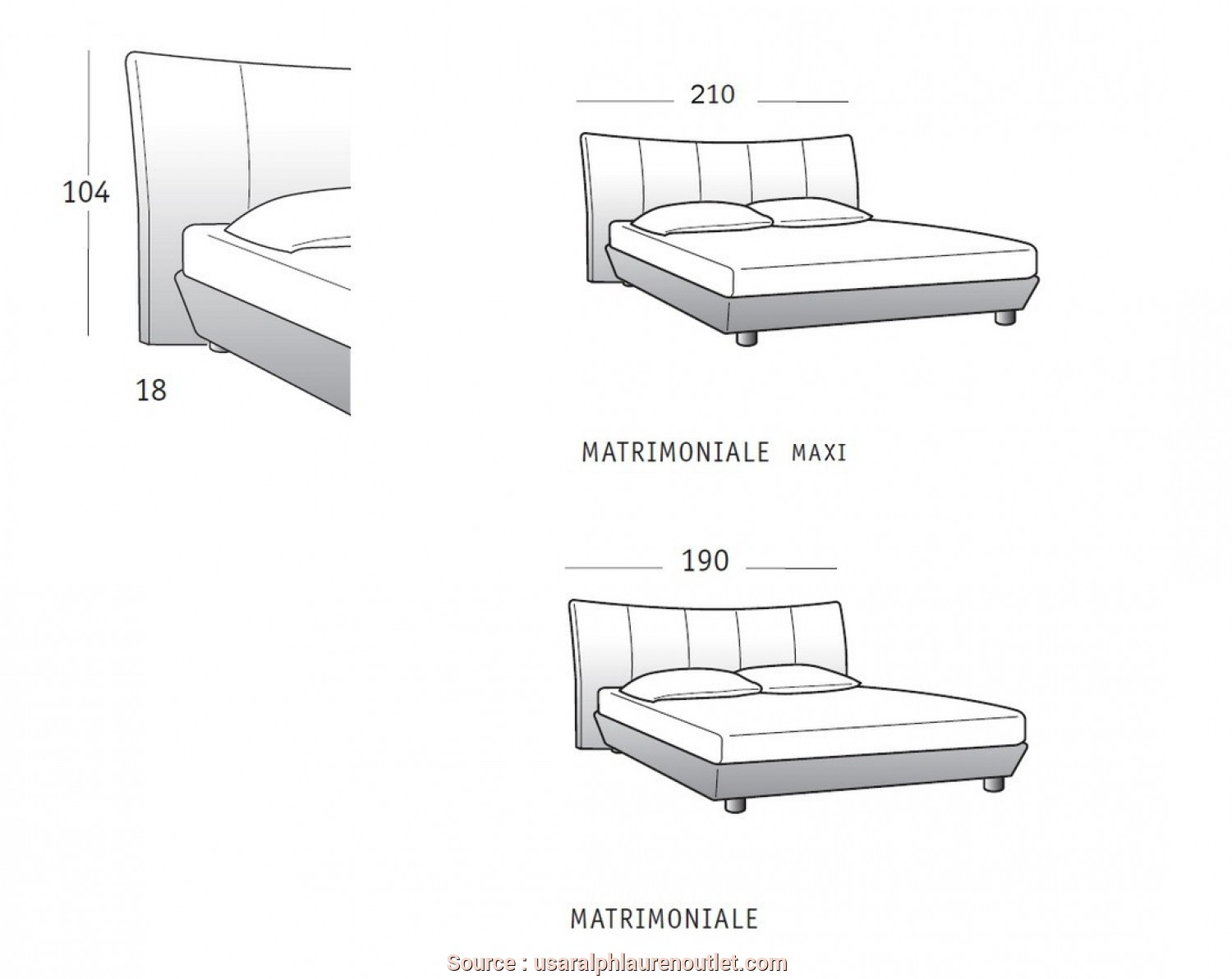 Loveable 4 divani letto in dwg jake vintage - Letto singolo dwg ...