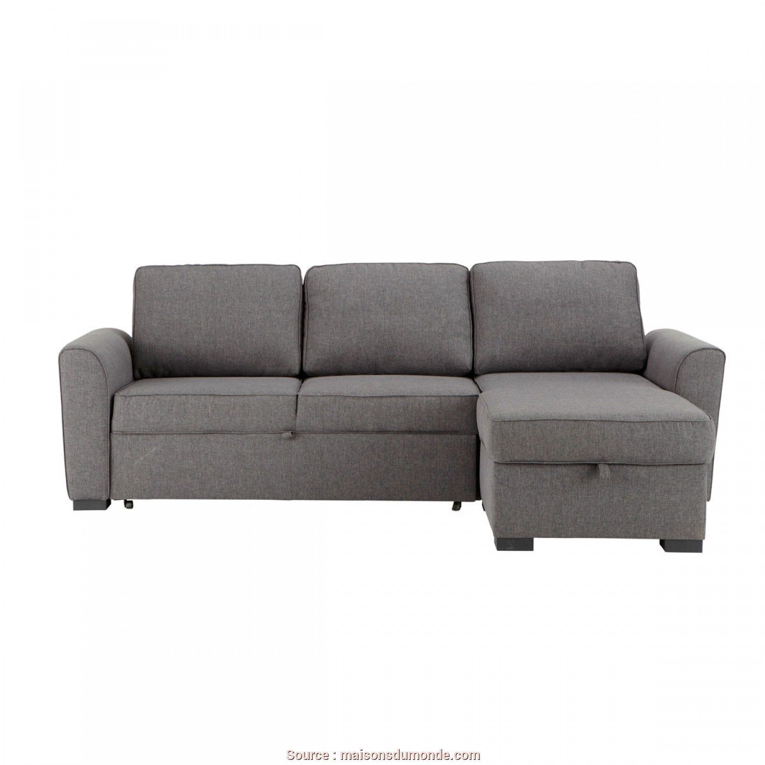 Divani Outdoor Maison Du Monde, Migliore 3/4 Seater Grey Fabric Corner Sofa Bed, Maisons Du Monde