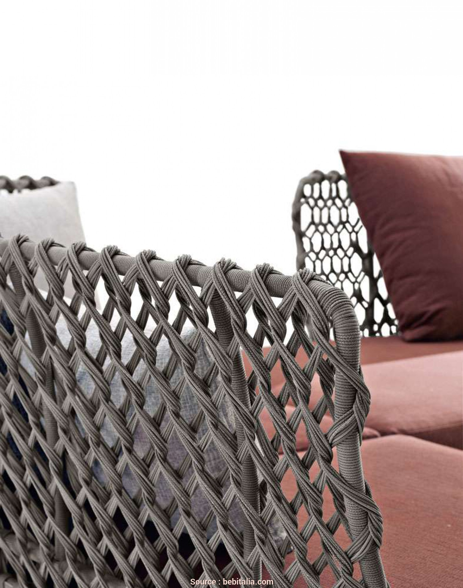 Divano Angolare Curvo Ravel, Incredibile Divano Ravel -B&B Italia Outdoor, Design Di Patricia Urquiola
