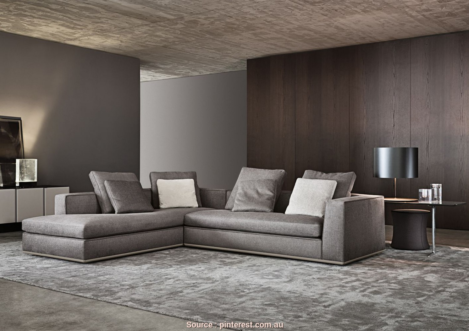 Divano Angolo Minotti, Grande Living Room Couches Decoration Ideas, Living Rooms, Room And