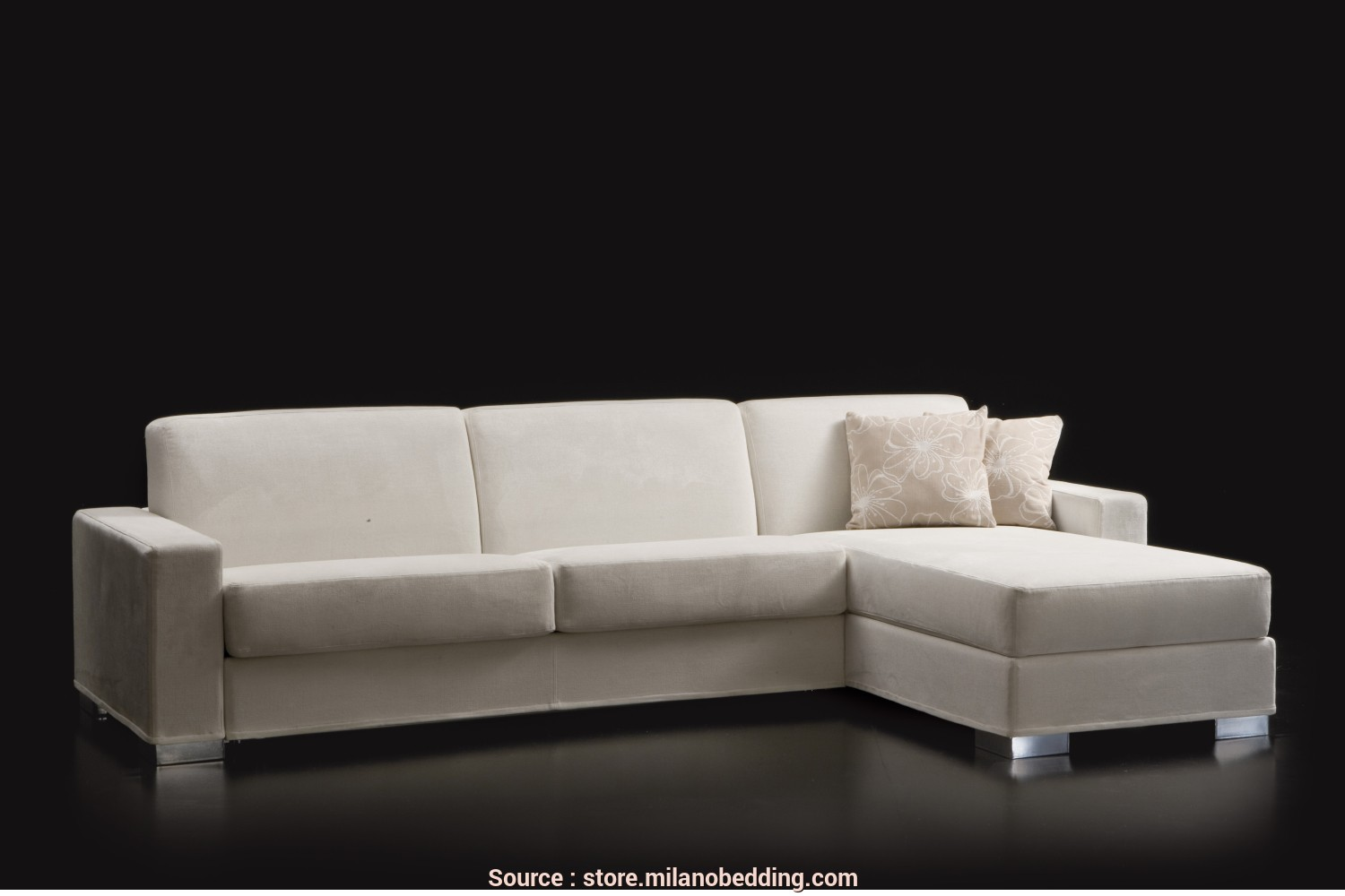 Divano Chaise Longue, Cm, Esclusivo Duke Convertible Sofa With Storage Chaise Longue, That, Be Turned Into A Double Bed