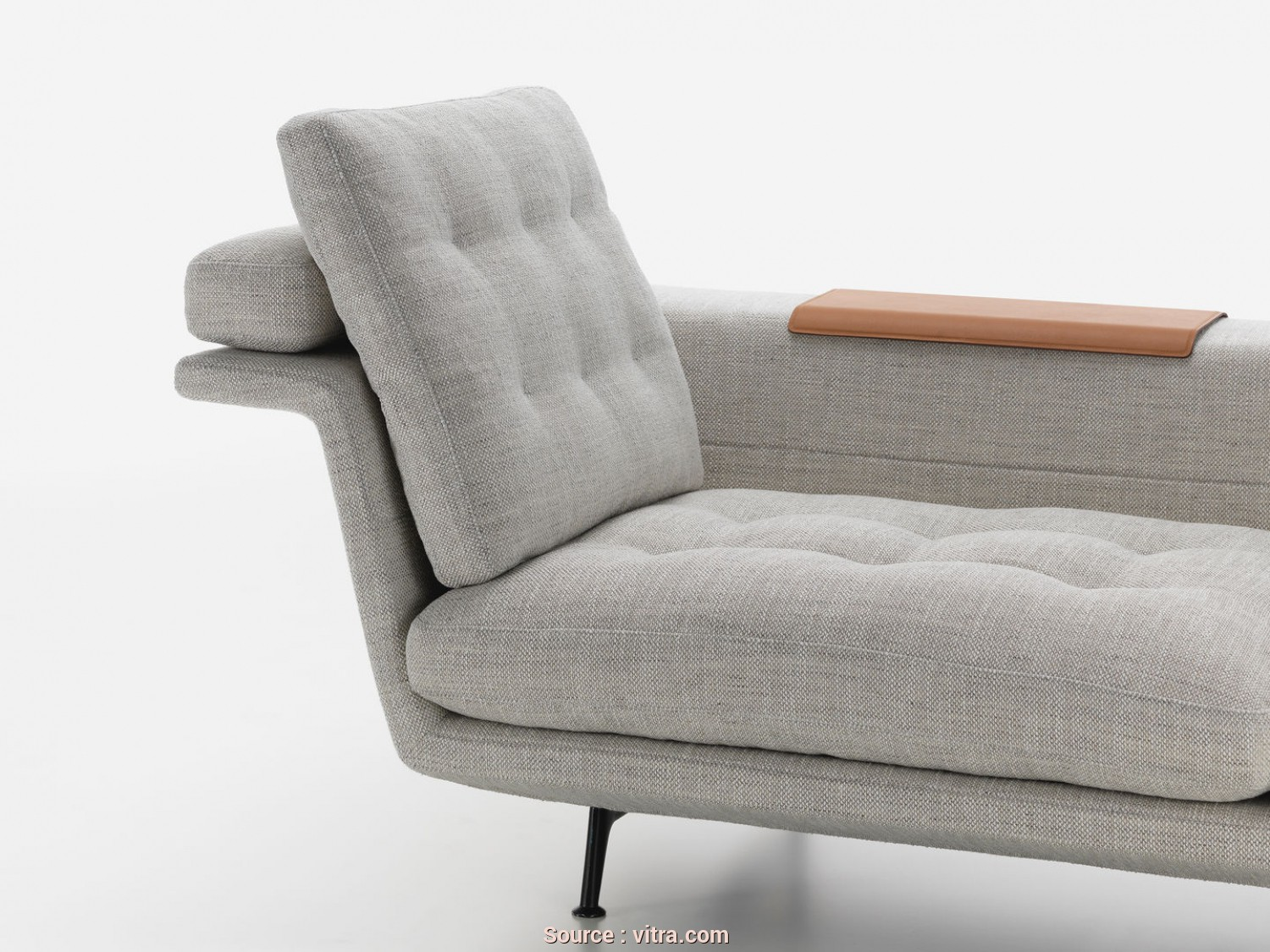Divano Chaise Longue Dwg, Magnifico Thanks To, Open Composition Of Grand Sofà, The Spatial Options This Creates, It Is Possible To, Behind, Sofa, Use, Fabric-Covered Ledge