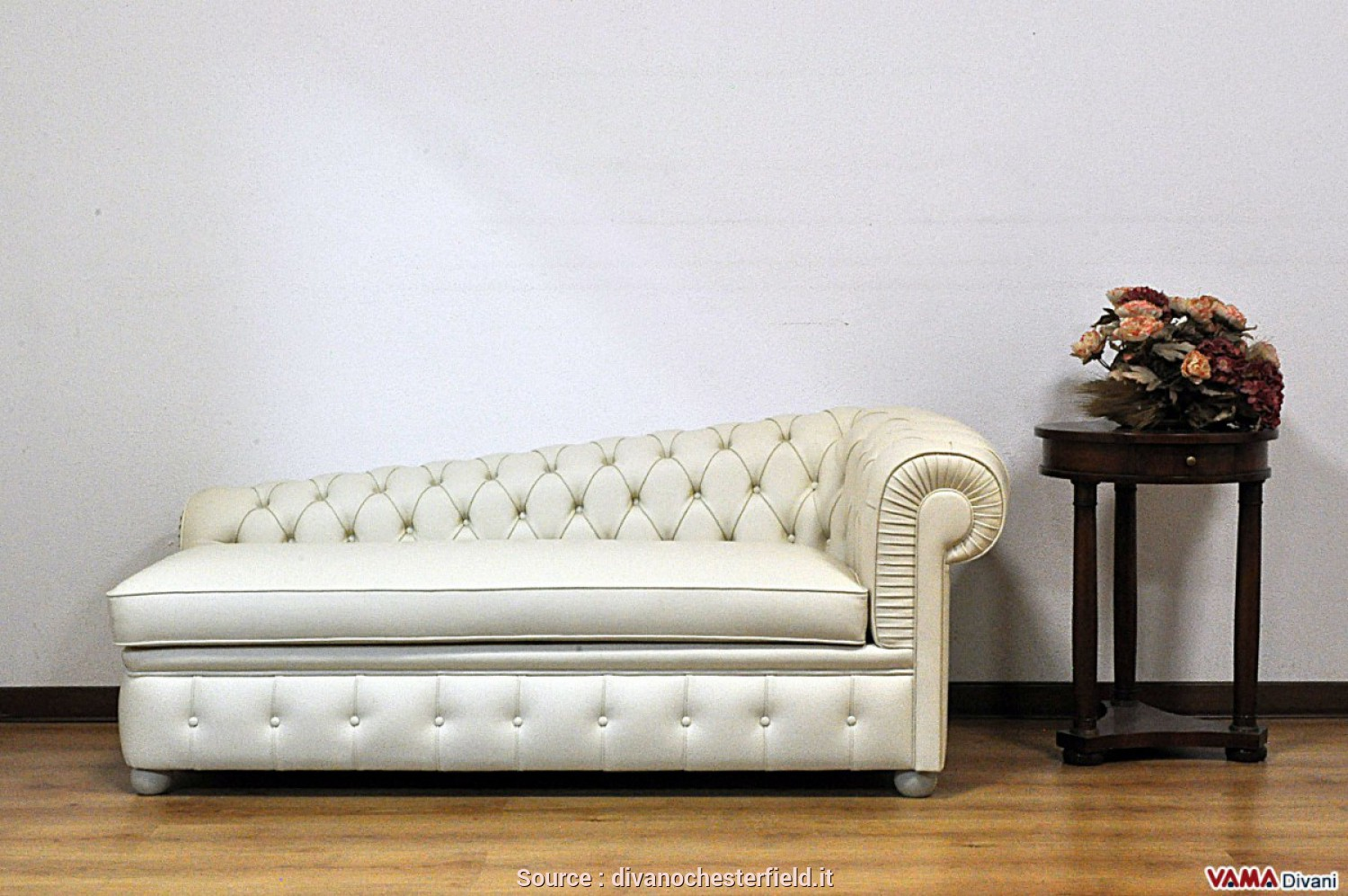 Divano Chaise Longue Mobile, Esclusivo Chaise Longue Chesterfield:, Cos