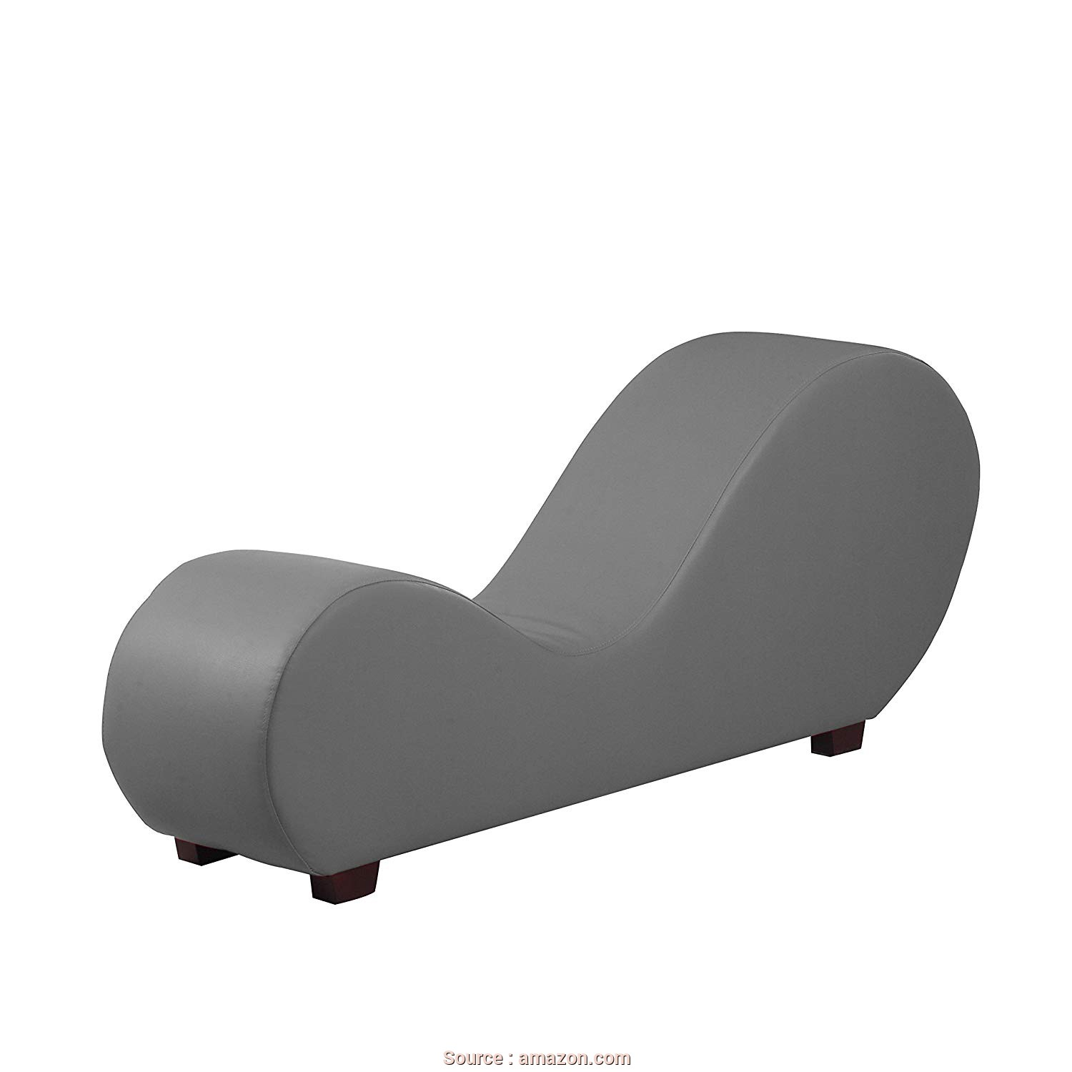 Divano Chaise Longue Relax, Esotico Amazon.Com: Divano Roma Furniture Modern Bonded Leather Chaise Lounge Yoga Chair, Stretching, Relaxation (Grey): Kitchen & Dining