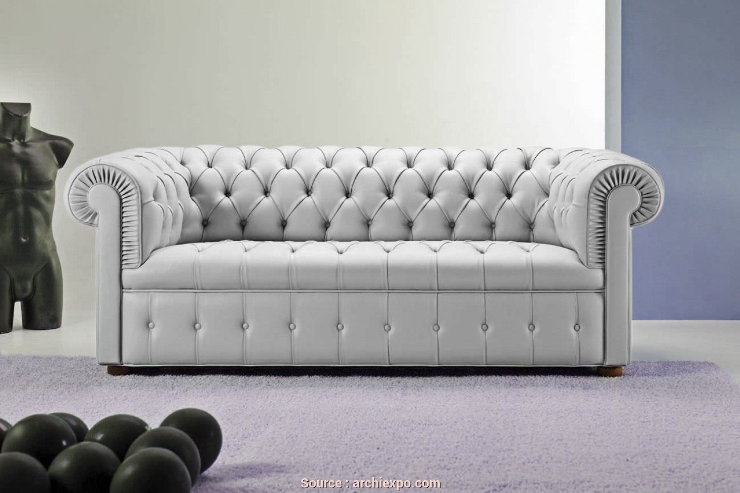 Incredibile 6 Divano Chesterfield Capitonne
