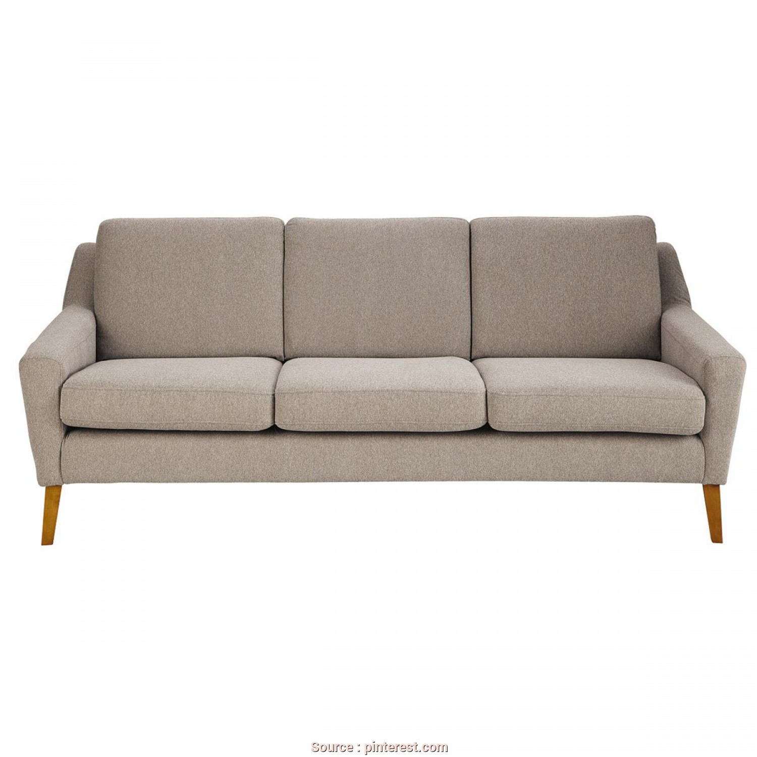 Divano Chesterfield Conforama, Divertente MAISONS DU MONDE, Sofa 3-Sitzer Linara Kittfarben, Men, In En