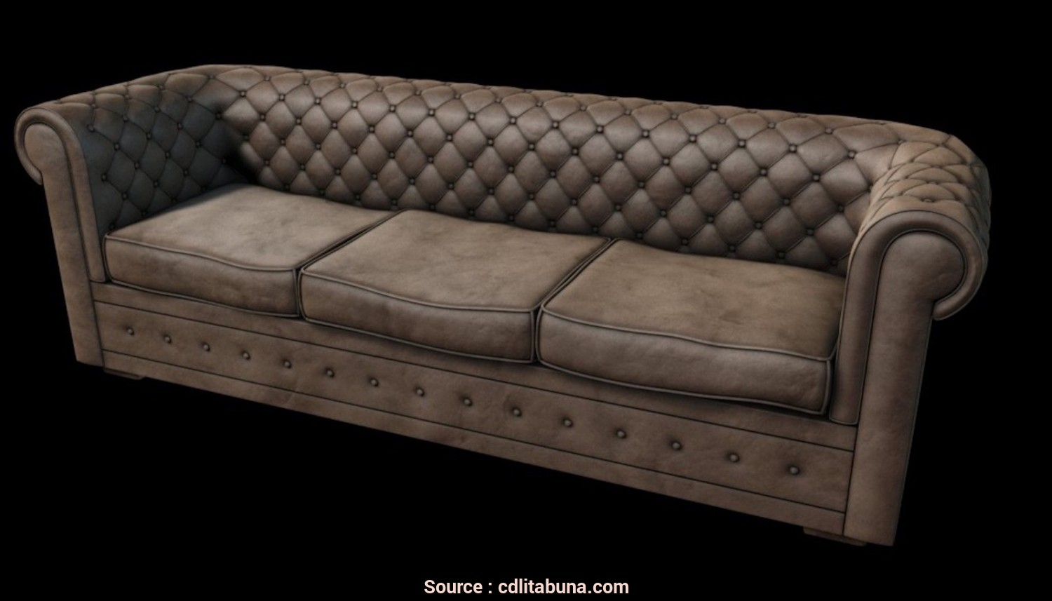 Divano Chesterfield Stoffa, Originale Divano Chesterfield Dwg