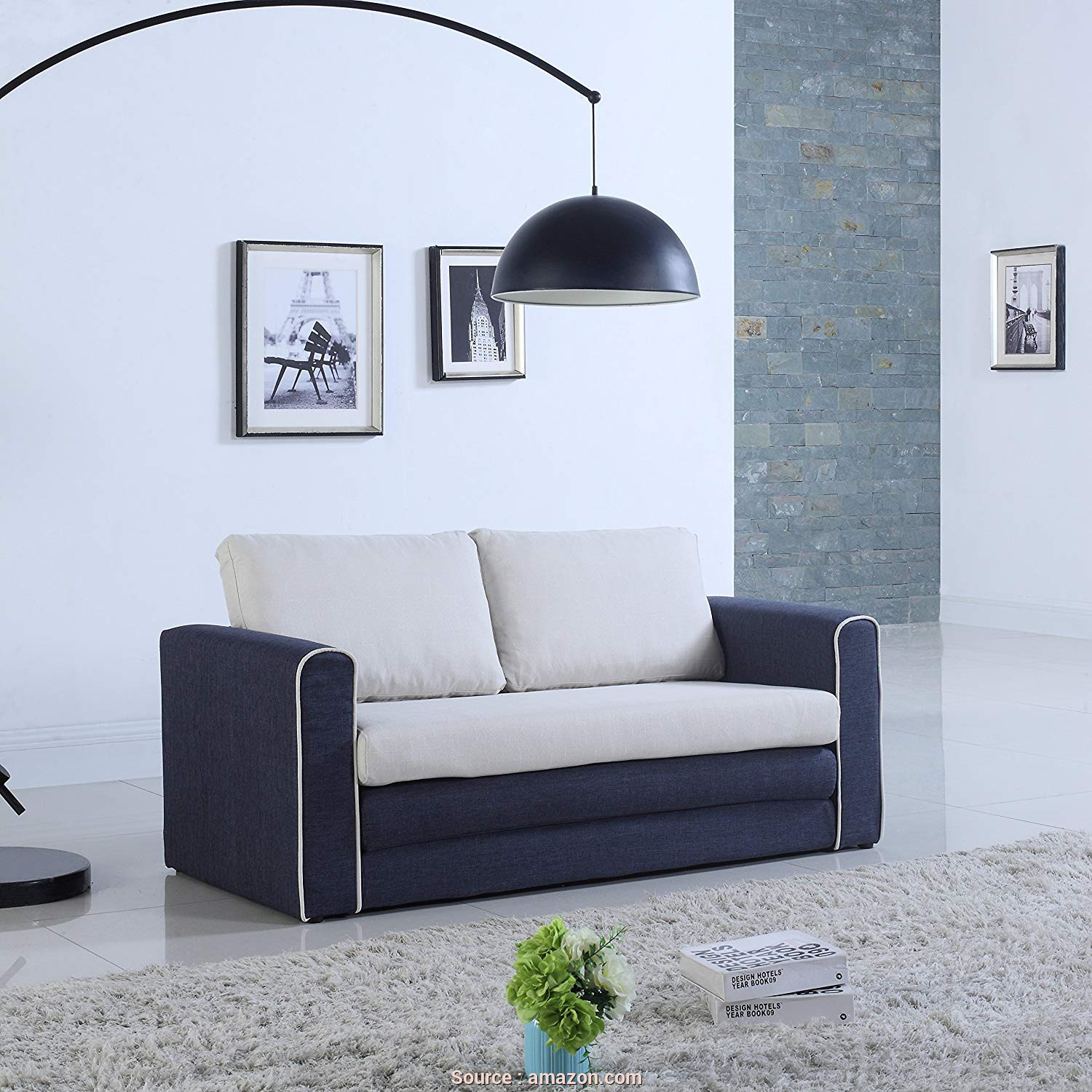 Divano Dm979 Black Modular Office Sofa, Buono Amazon.Com: Divano Roma Furniture Modern 2 Tone Modular/Convertible Sleeper (Dark Blue/Beige): Kitchen & Dining