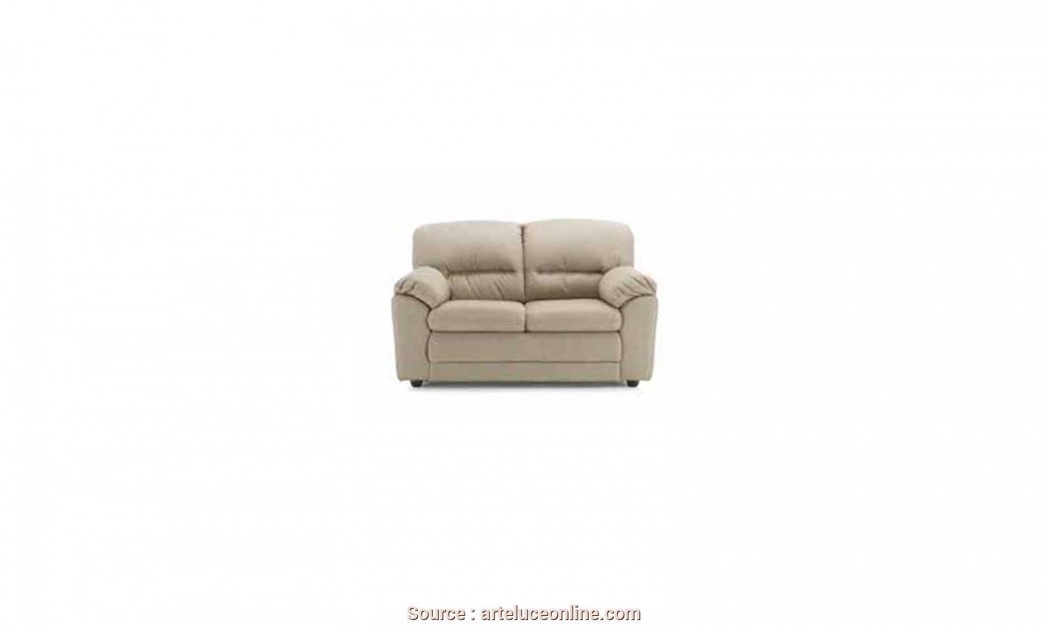 Divano Ecopelle Online, Superiore TWO PLACES SOFA EMMA IN ECO-FRIENDLY LEATHER