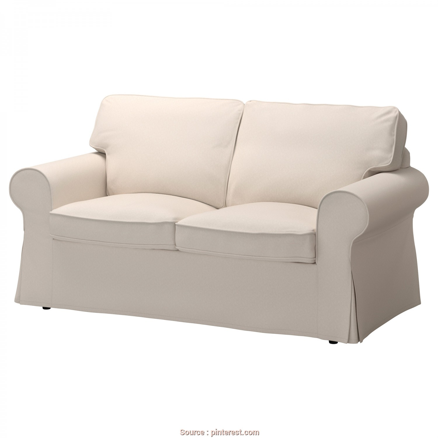 Divano Ektorp Ikea 2 Posti, Rustico IKEA, EKTORP, Loveseat, Lofallet Beige, , Seat Cushions Filled With High Resilience Foam, Polyester Fiber Wadding Provide Comfortable Support, Your