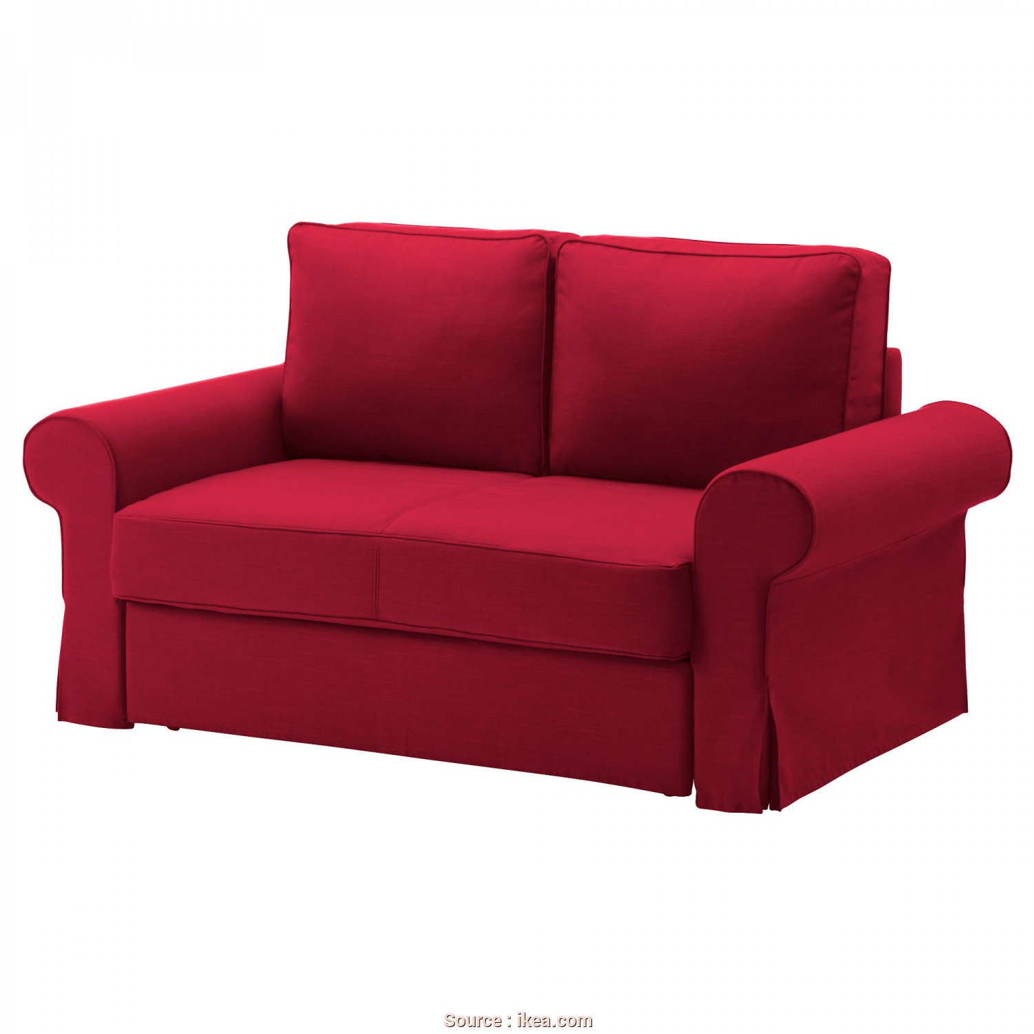 Divano Ikea, Euro, Superiore BACKABRO Two-Seat Sofa-Bed Nordvalla Red