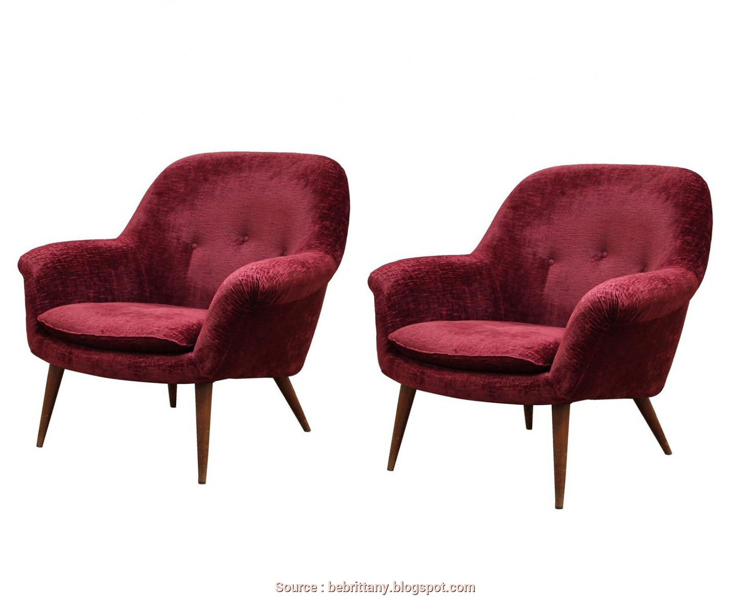 Divano Letto Toronto Maison Du Monde, Eccezionale Italian Burgundy Armchairs 1950S, Of 2, Sale At Pamono With 1950S Armchairs, Sale
