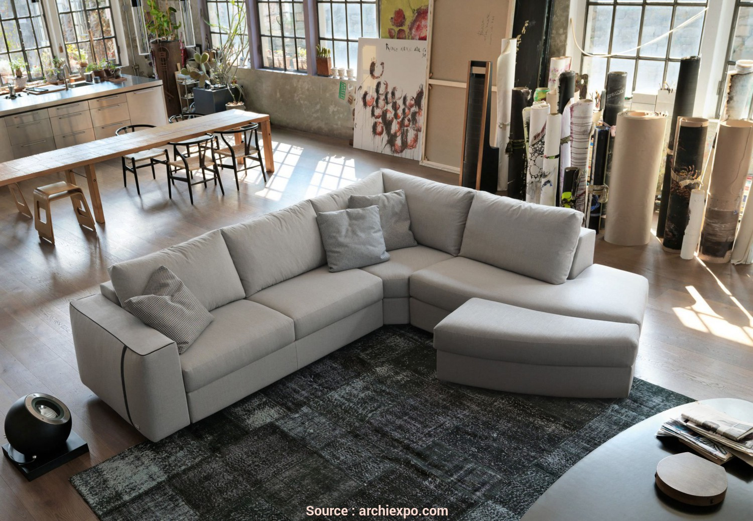 Divano Nevada Doimo, Incredibile Corner Sofa /, / Contemporary / Fabric, LIKE, Doimo Salotti