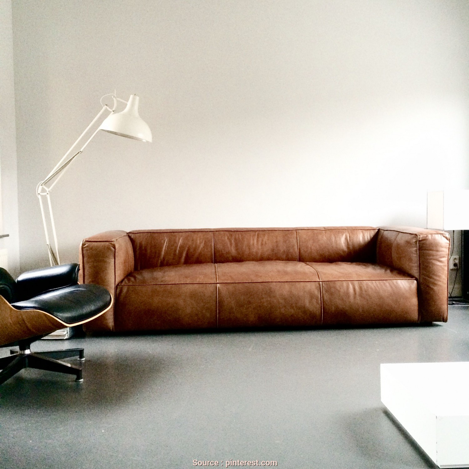 Divano Olina Poltrone E Sofa, Locale Love This Vintage Design Leather Sofa #Cognac #Sofa #LeatherSofa