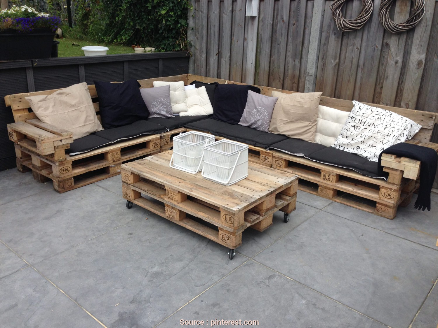 Divano, Pallet Paint Your Life, Classy Lounge, With Repurposed Euro Pallets, Eco, Pinterest, Pallet