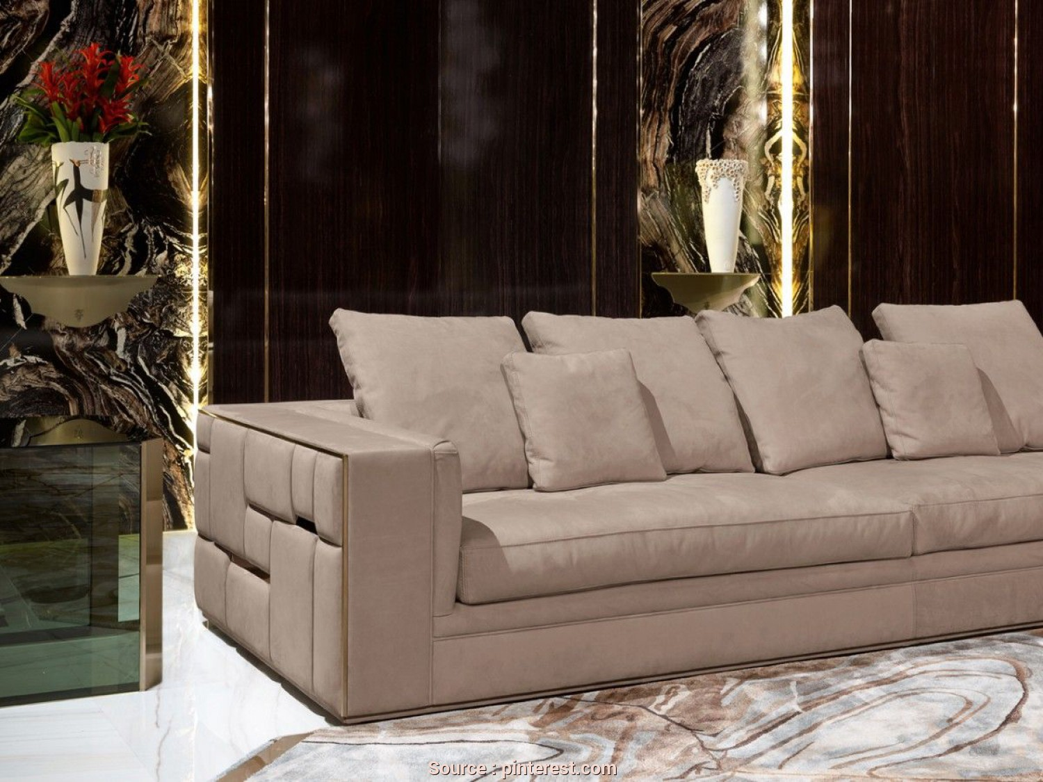 Divano Sofa Inegöl, Bello Babylon, Livingroom, Visionnaire Home Philosophy Sofa Furniture, Luxury Furniture, Living Room Furniture
