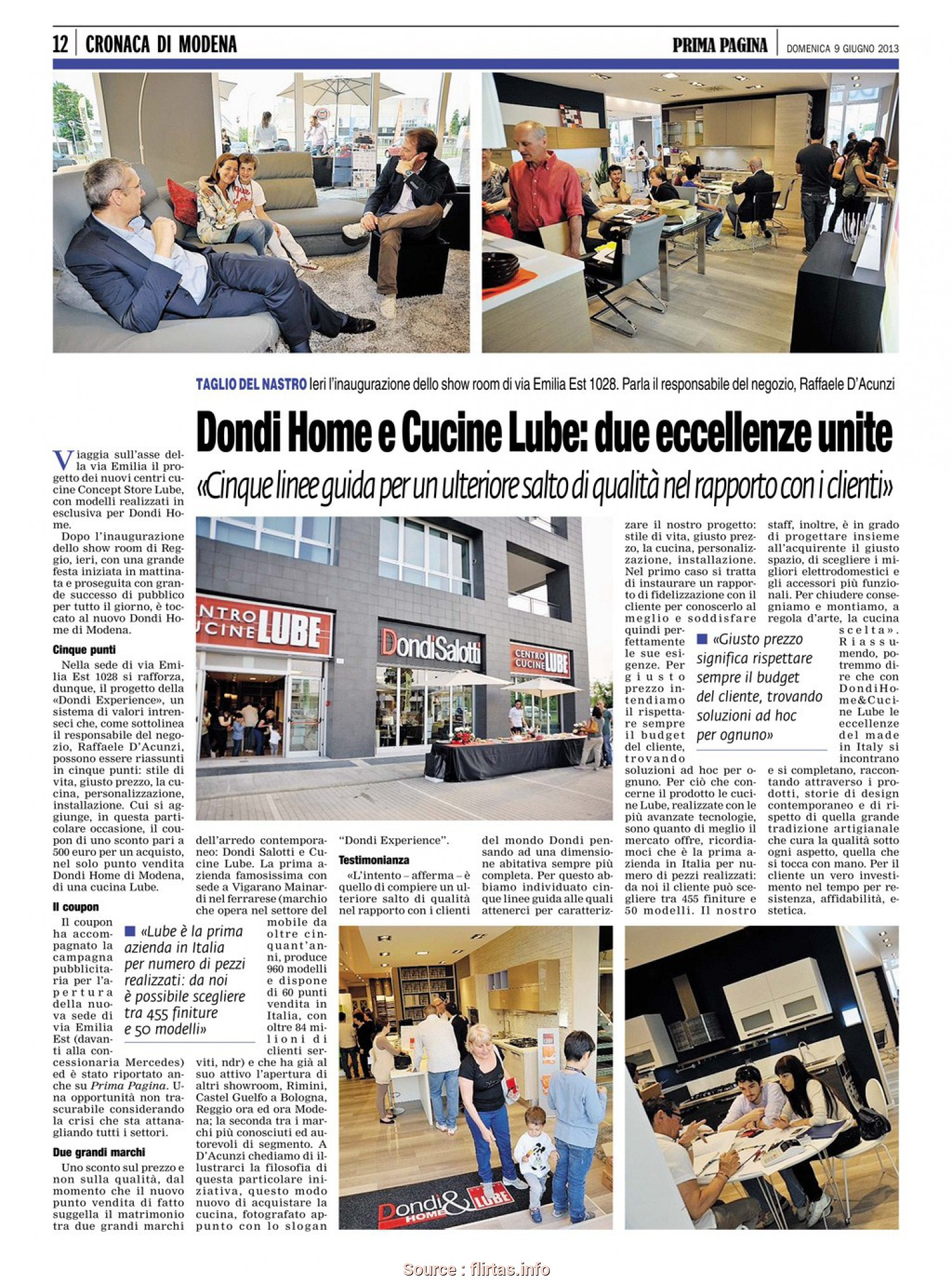 Dondi Home Divani, Fantasia Lube Kitchens, Dondi Home, Excellence Of Made In Italy Meet