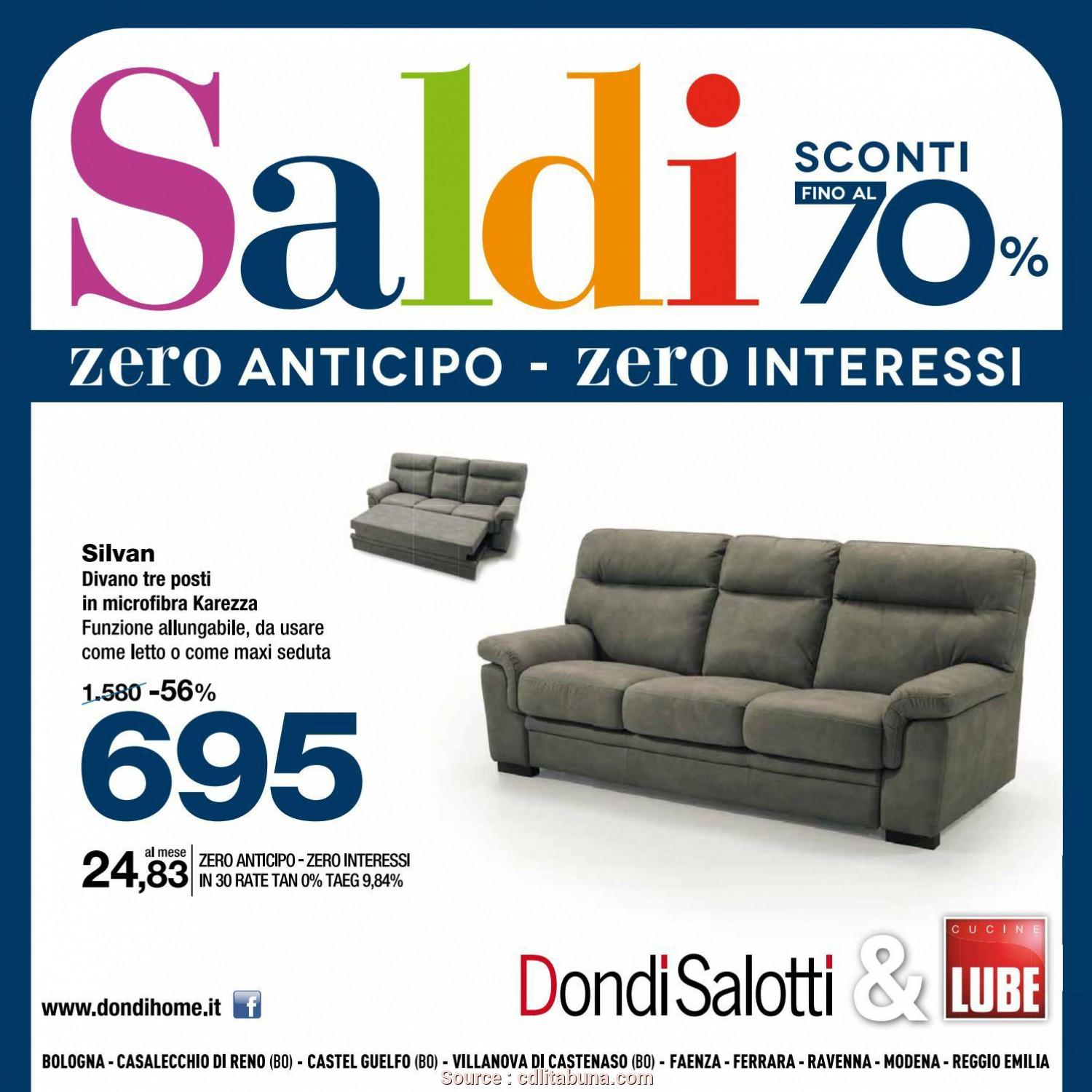 Dondi Home Divani, Incredibile Volantino Saldi Dondi Emilia Romagna By Michele Travagli Issuu