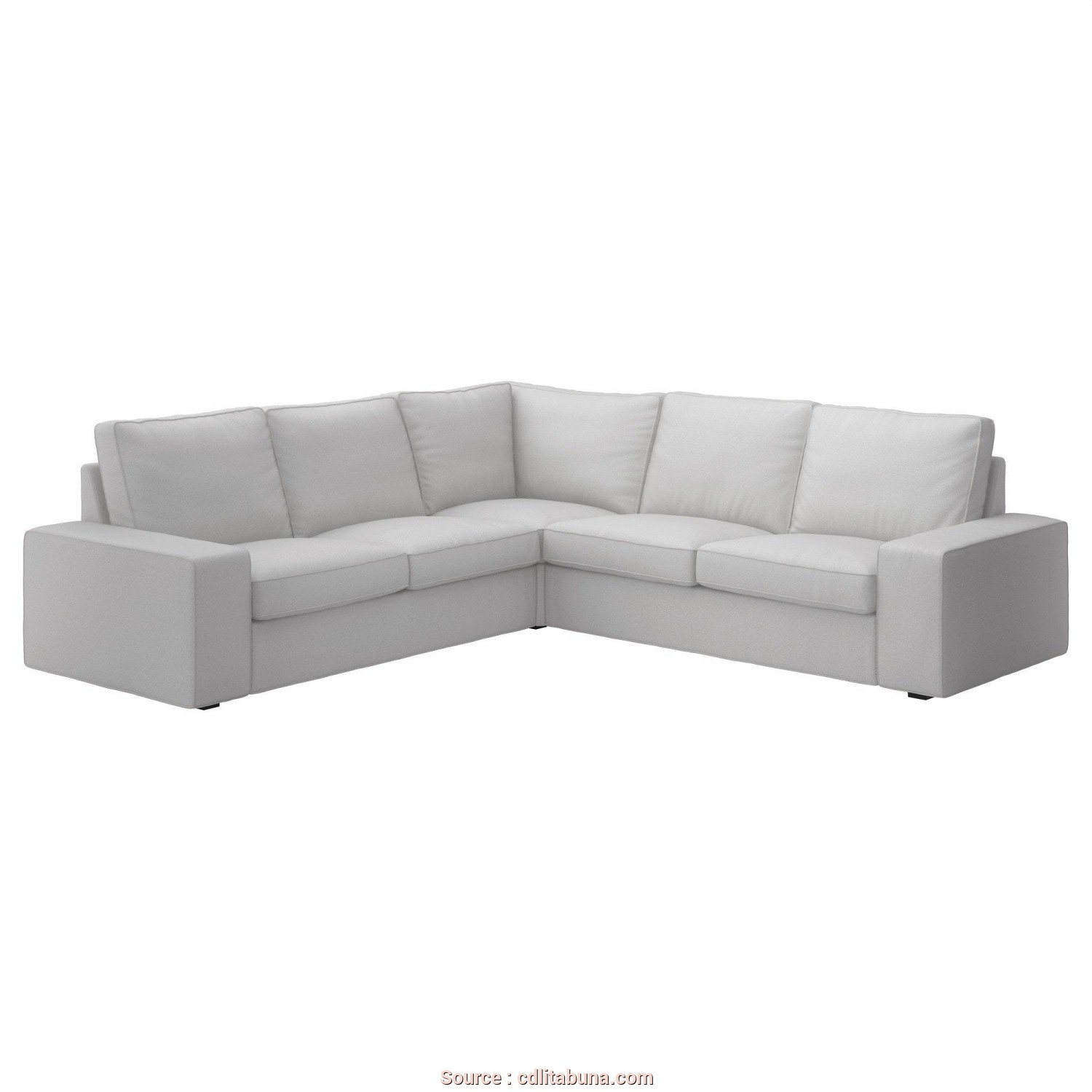 Ektorp 2 Posti Recensioni, Bella Kivik Corner Sofa 4 Seat Ramna Light Grey Ikea