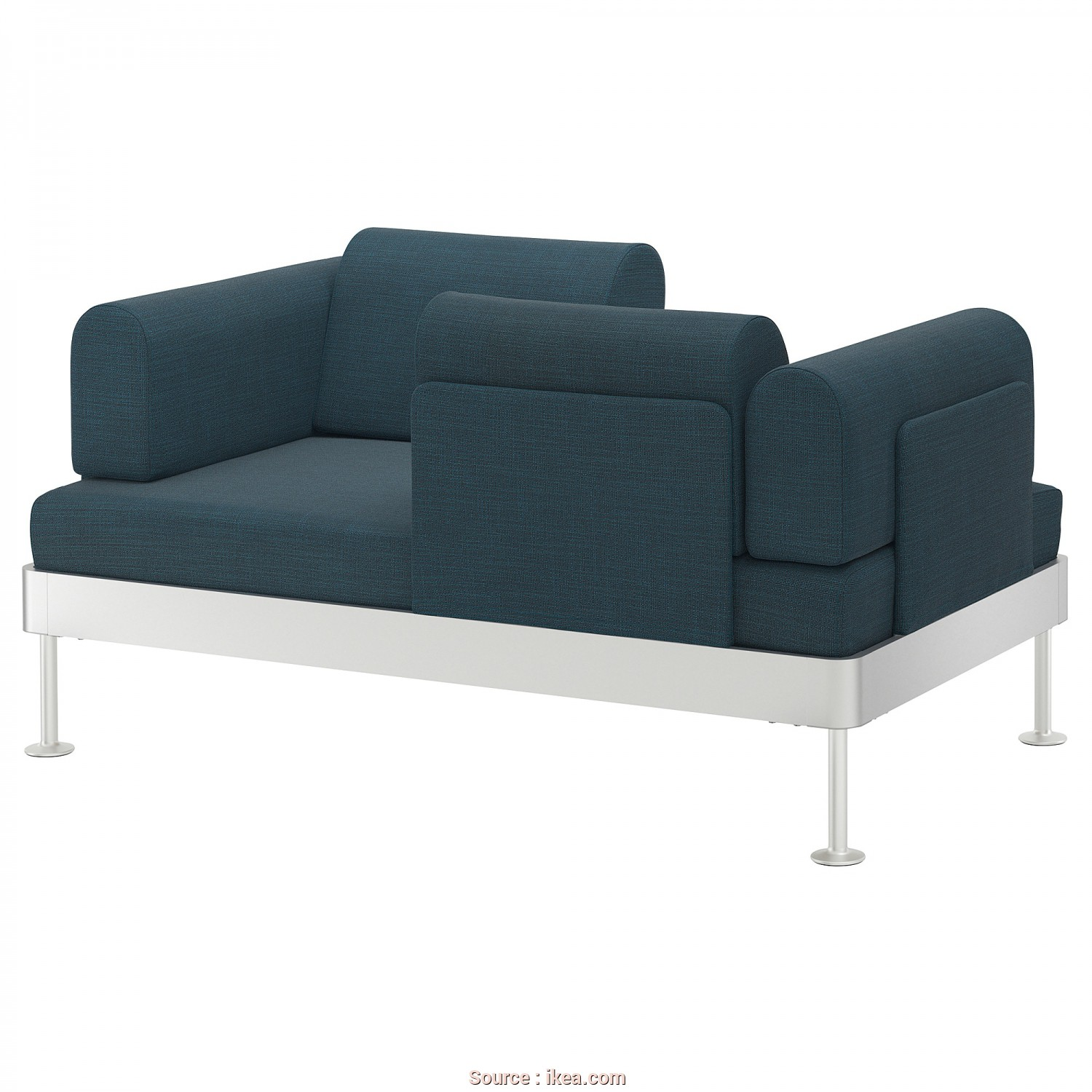 Futon Ikea Canada, Rustico IKEA DELAKTIG 2-Seat Sofa, Cover Is Easy To Keep Clean As It Is