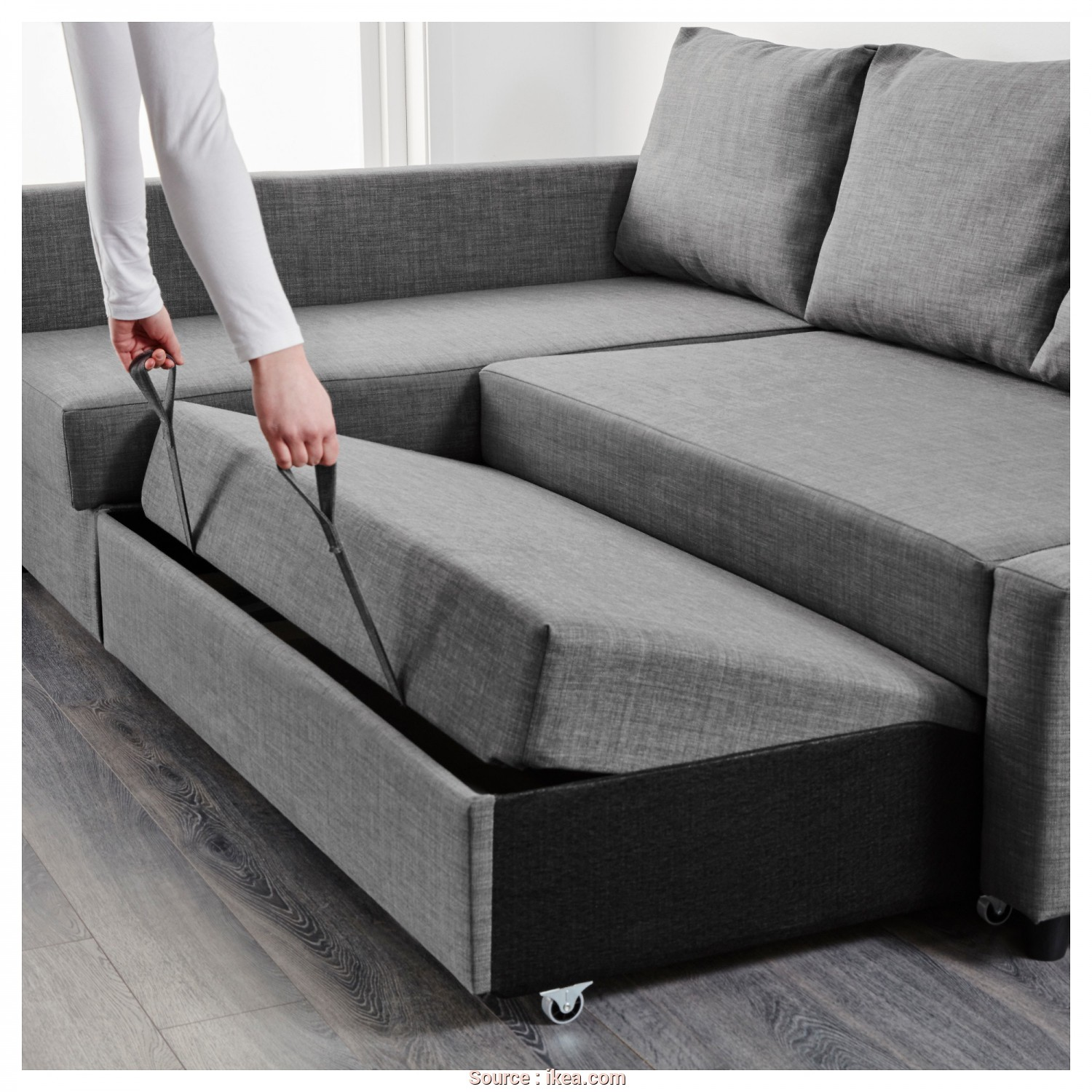 Futon Ikea Catalogo, Freddo IKEA FRIHETEN Corner Sofa-Bed With Storage Sofa, Chaise Longue, Double, In