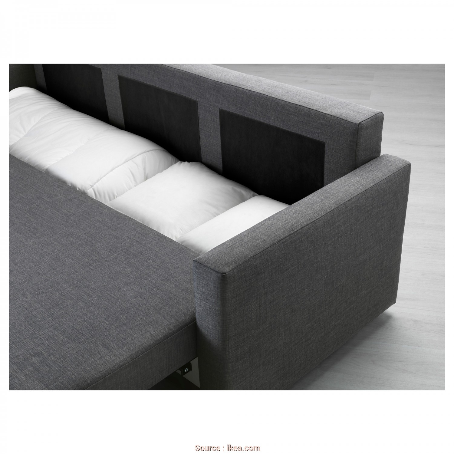 Futon Ikea Catalogo, Grande IKEA FRIHETEN Three-Seat Sofa-Bed Readily Converts Into A Bed