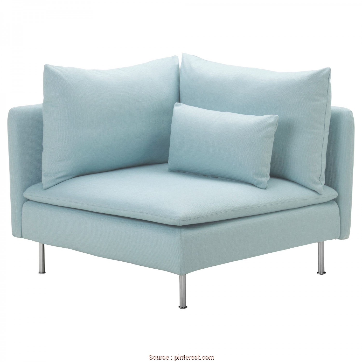 Futon Ikea Segunda Mano, Superiore SÖDERHAMN Corner Section, Isefall Light Turquoise, IKEA Comes In 5 Different Colors, $200.00