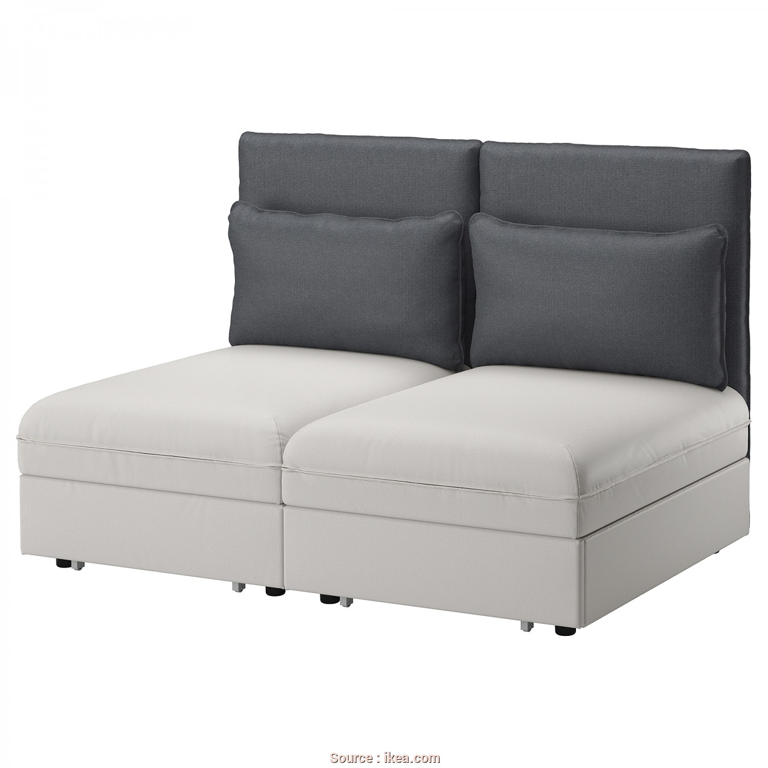 Futon Ikea Sofa Bed, Ideale IKEA VALLENTUNA 2-Seat Sofa With, This Combination Converts Easily Into A Bed