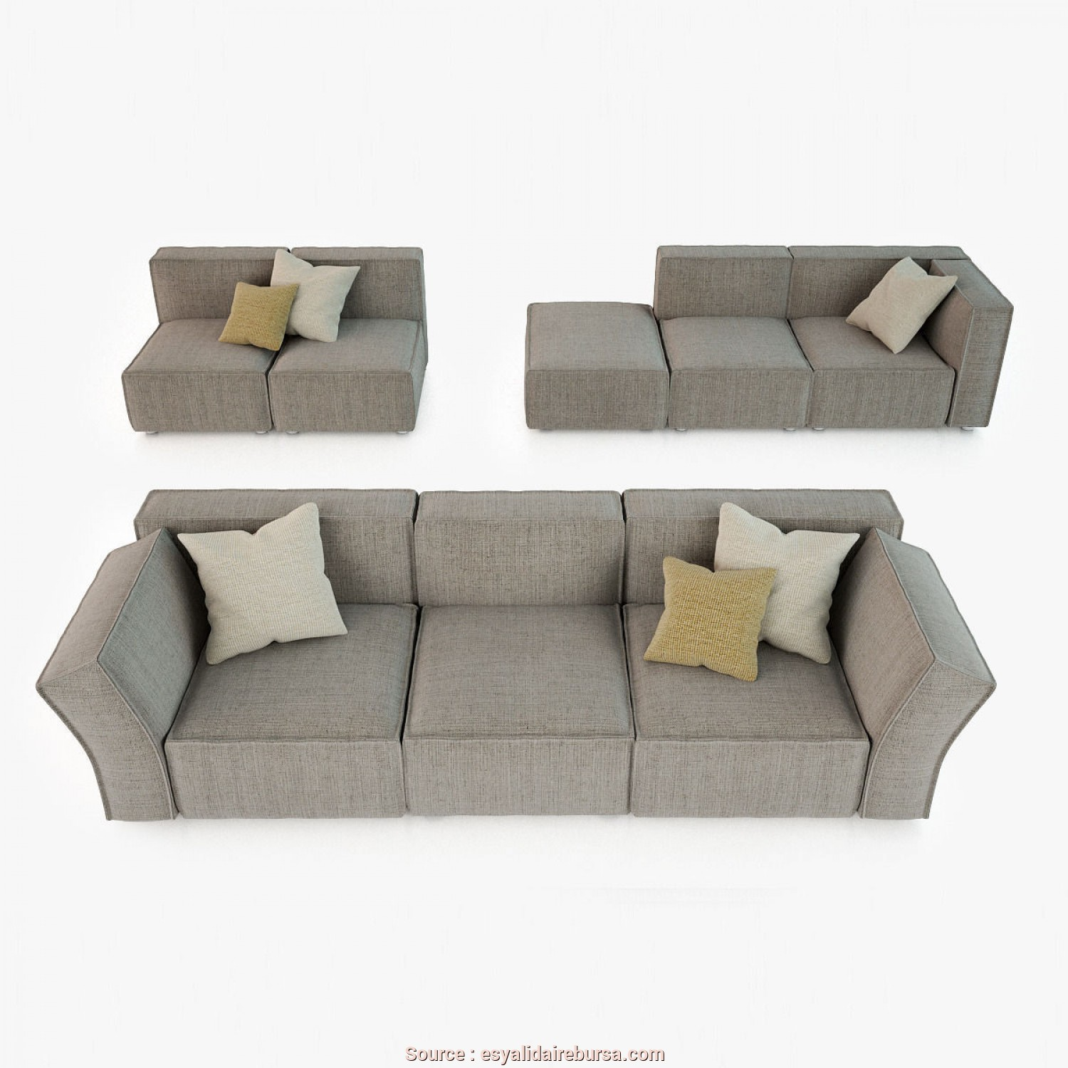 Hip, Sofa Calia Italia, Eccezionale Calia Italia Richard Sofa Collection 3D Cgtrader